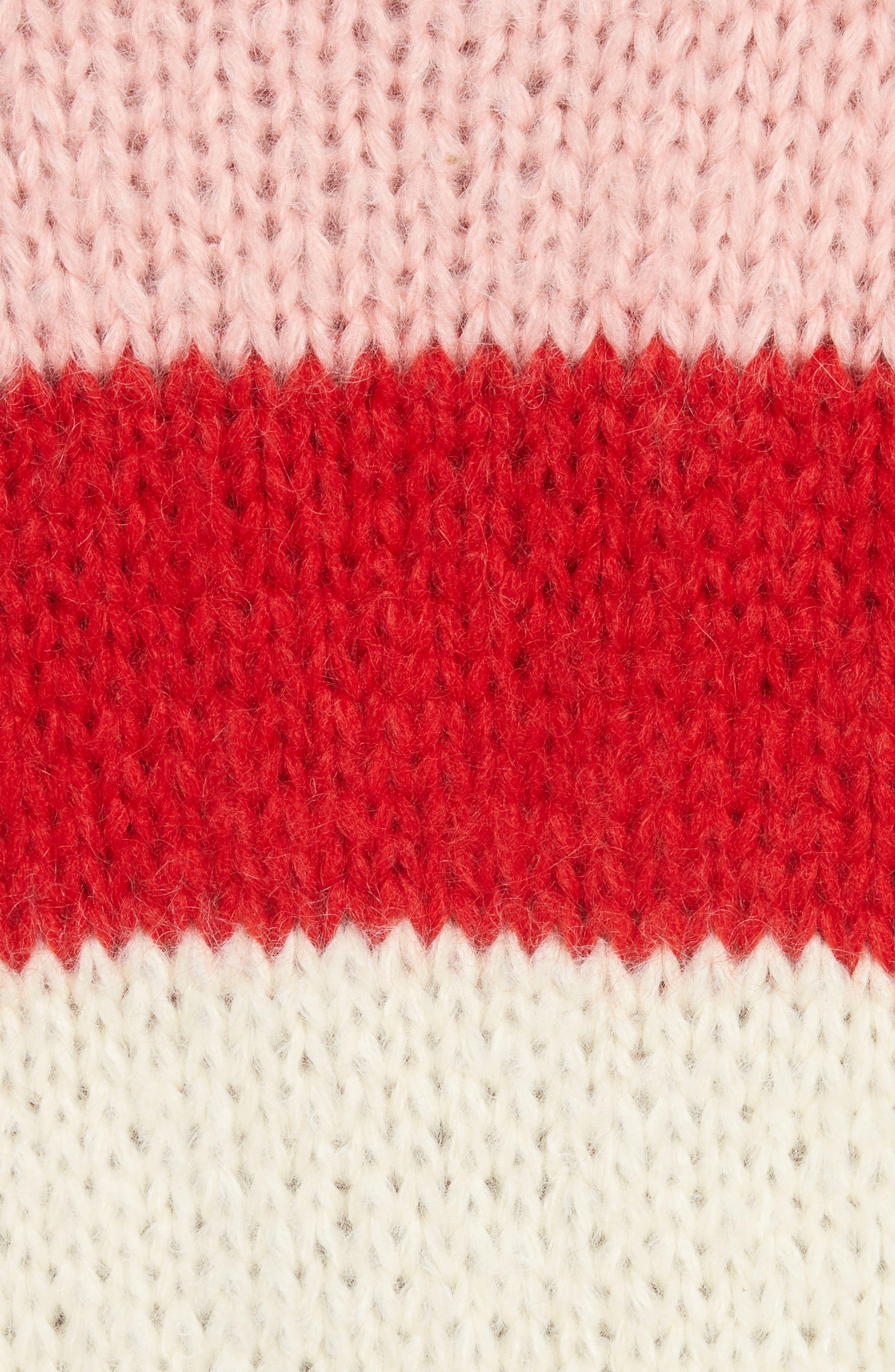 Alternate Image 5  - GANNI Julliard Multistripe Sweater