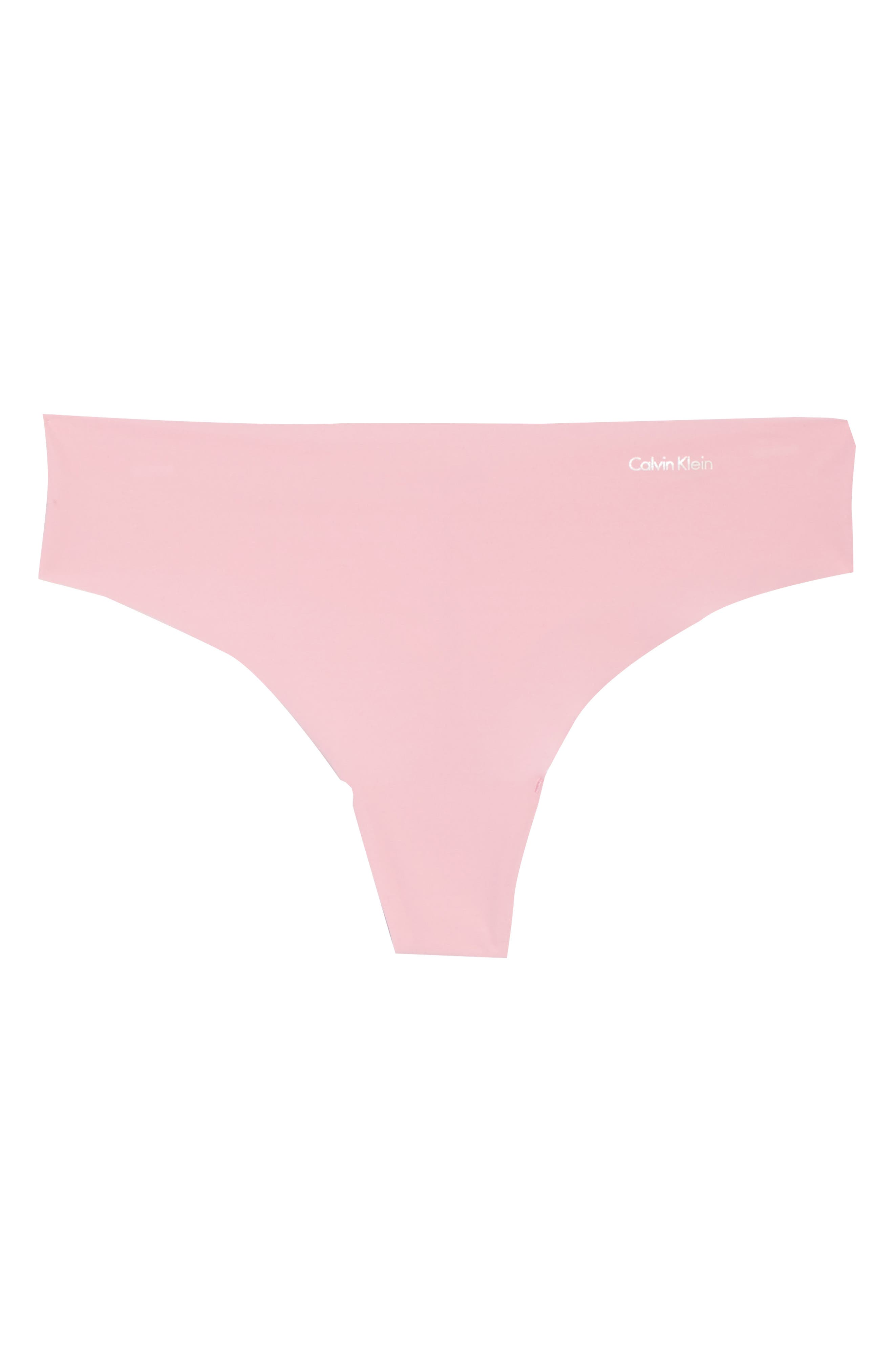 Alternate Image 4  - Calvin Klein 'Invisibles' Thong (3 for $33)