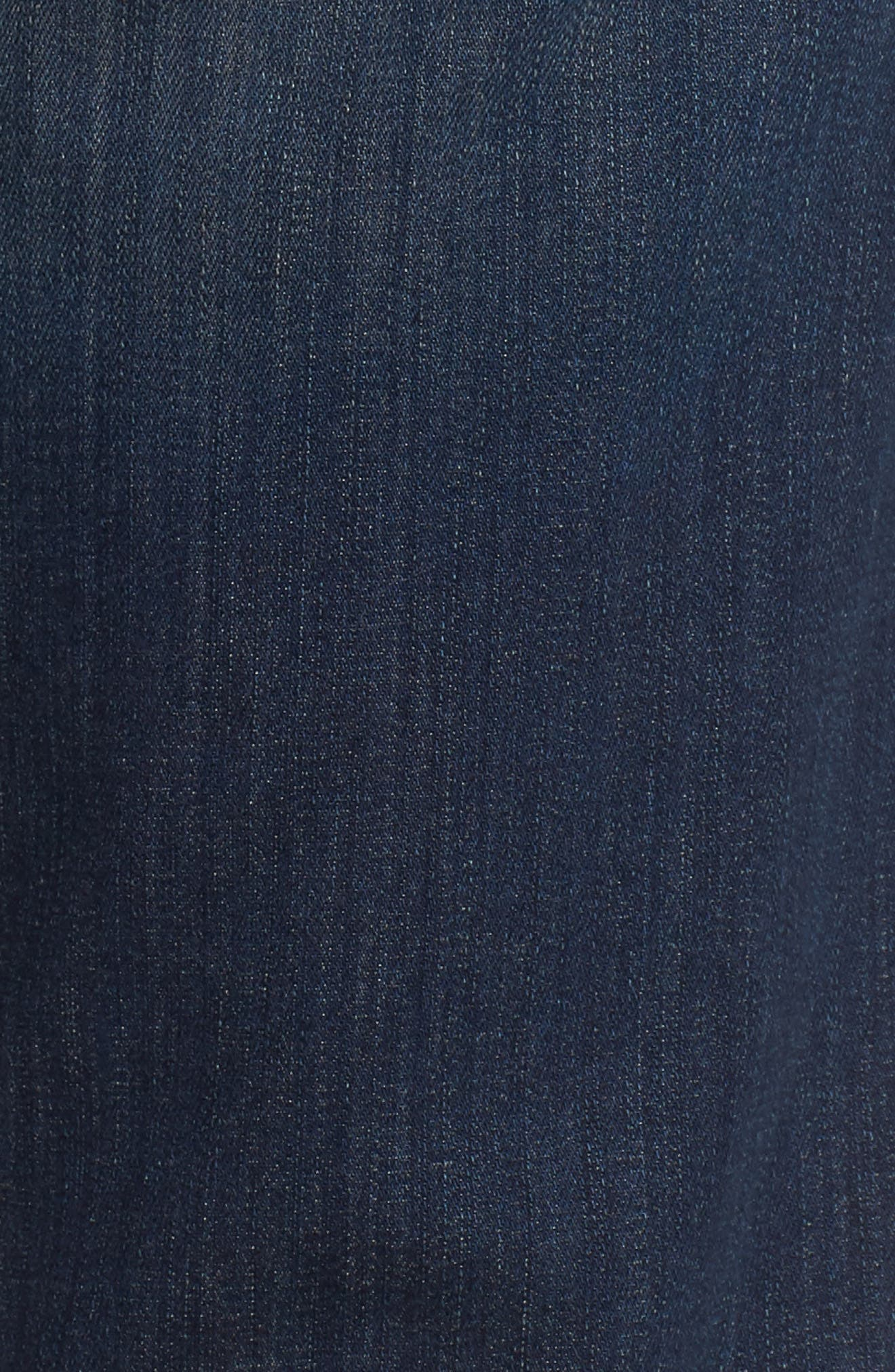 Transcend - Lennox Slim Fit Jeans,                             Alternate thumbnail 5, color,                             Freeman