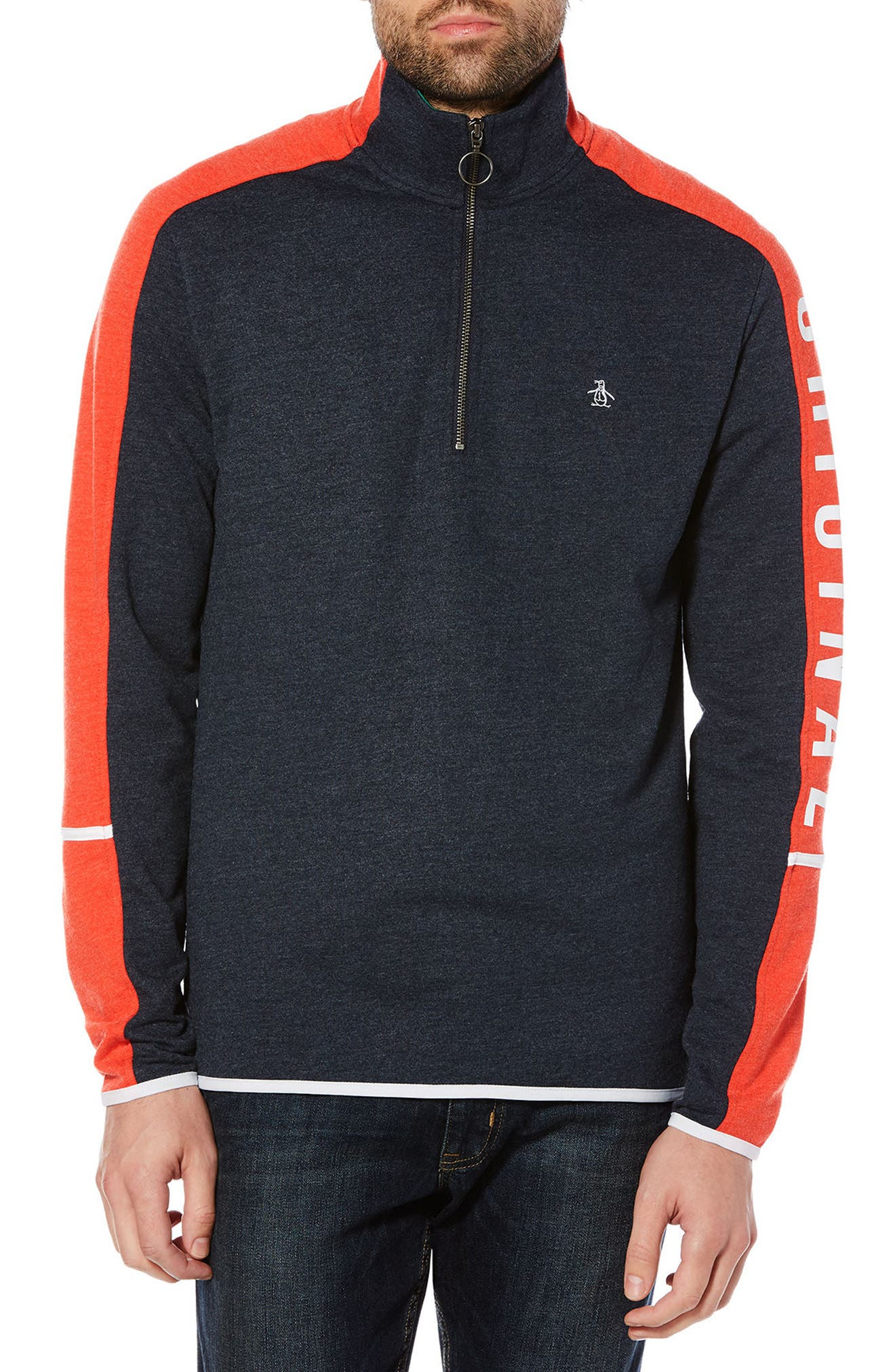 Alternate Image 1 Selected - Original Penguin Colorblock Pullover