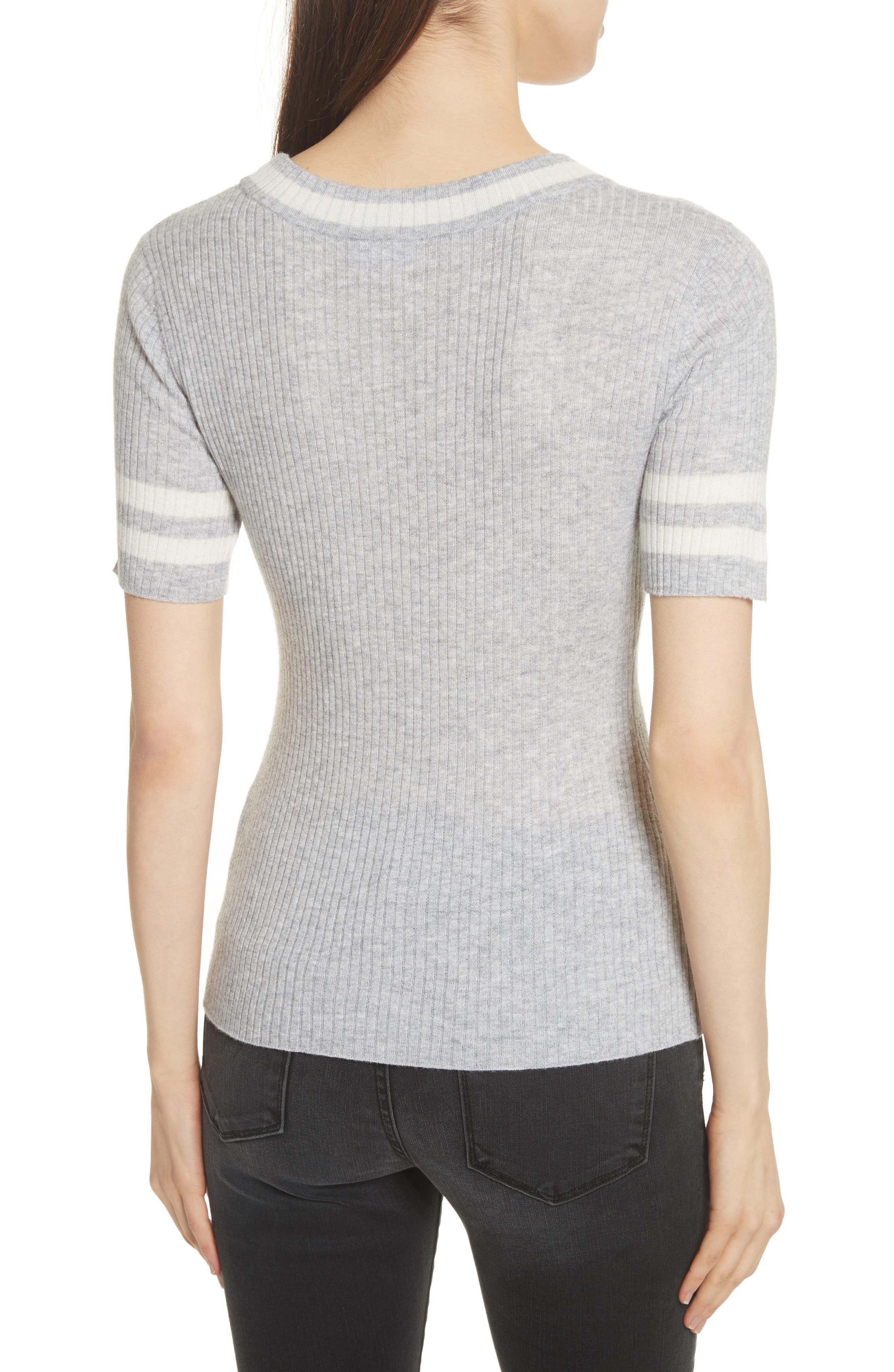 Alternate Image 3  - FRAME Varsity Sweater