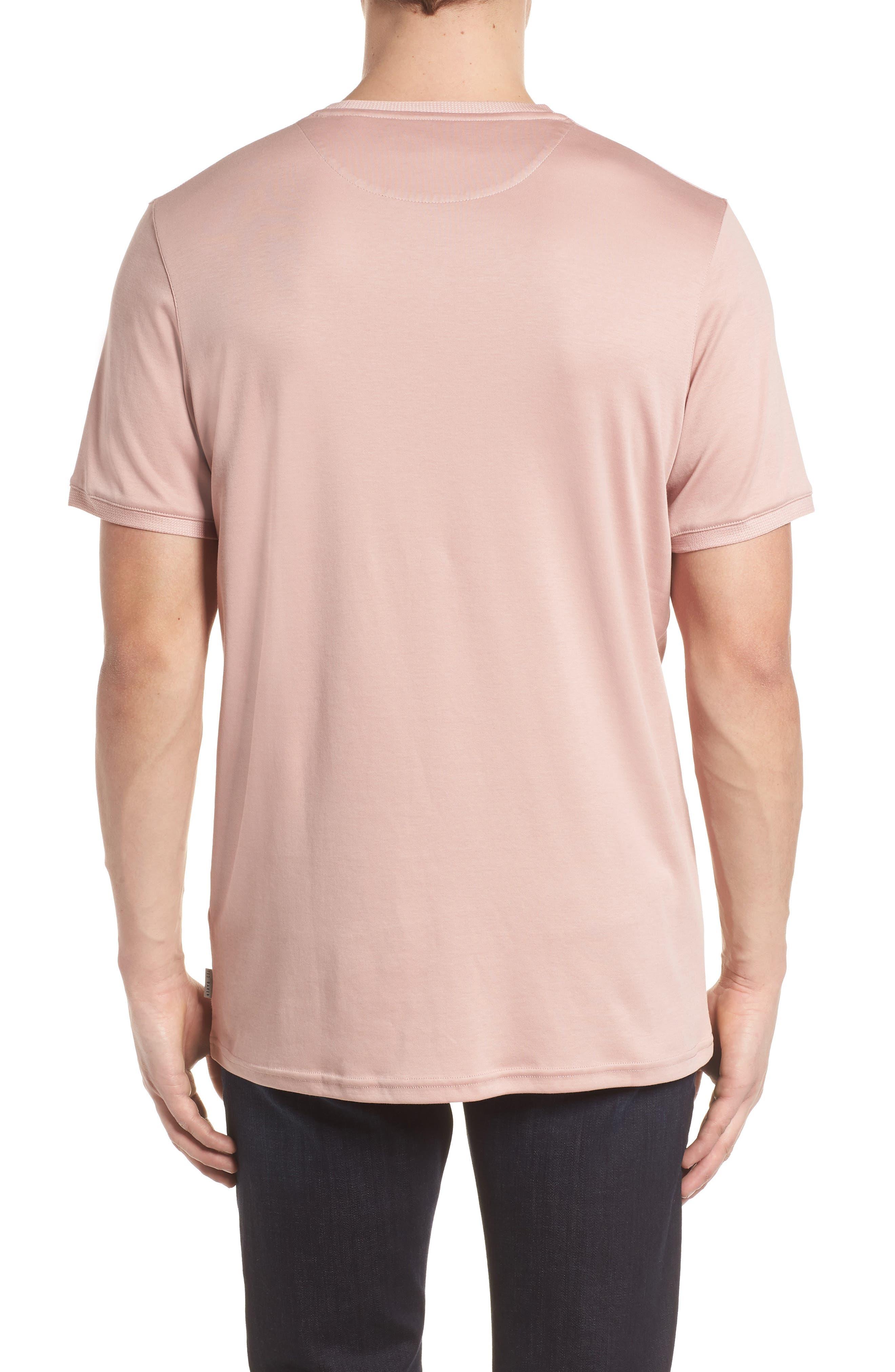 Piktt Crewneck T-Shirt,                             Alternate thumbnail 2, color,                             Dusky Pink