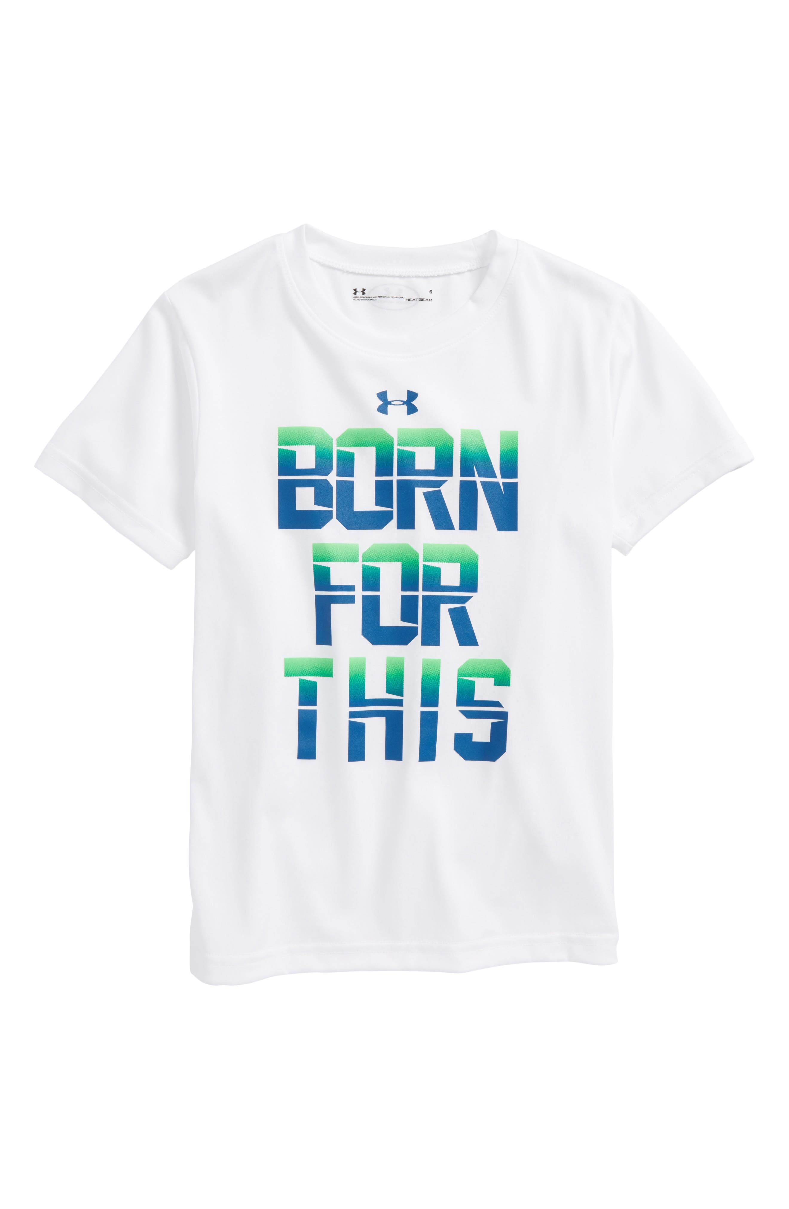Under Armour Born for This HeatGear® Graphic T-Shirt (Toddler Boys & Little Boys)