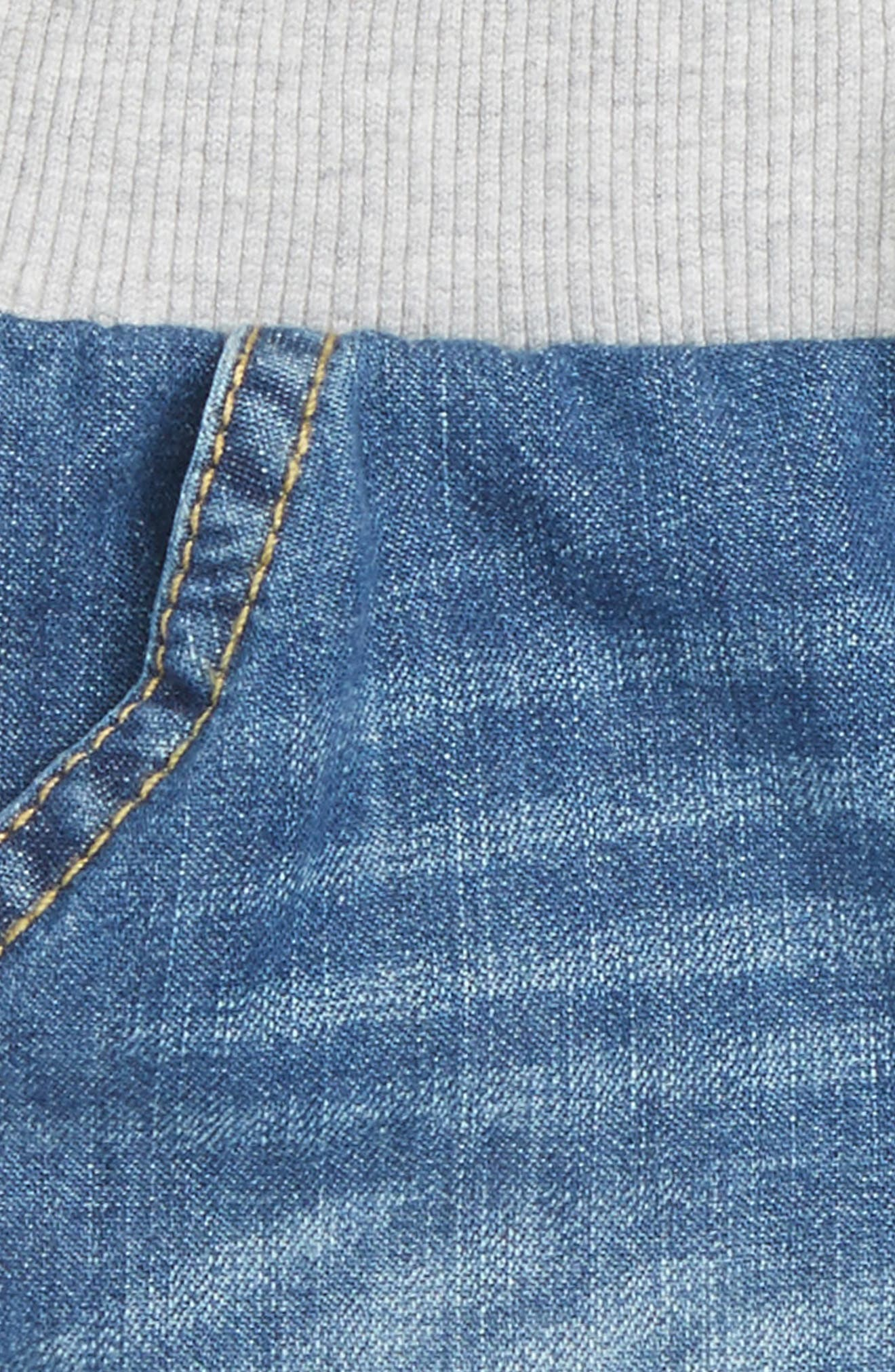 Woven Cotton Shorts,                             Alternate thumbnail 2, color,                             Blue River Wash