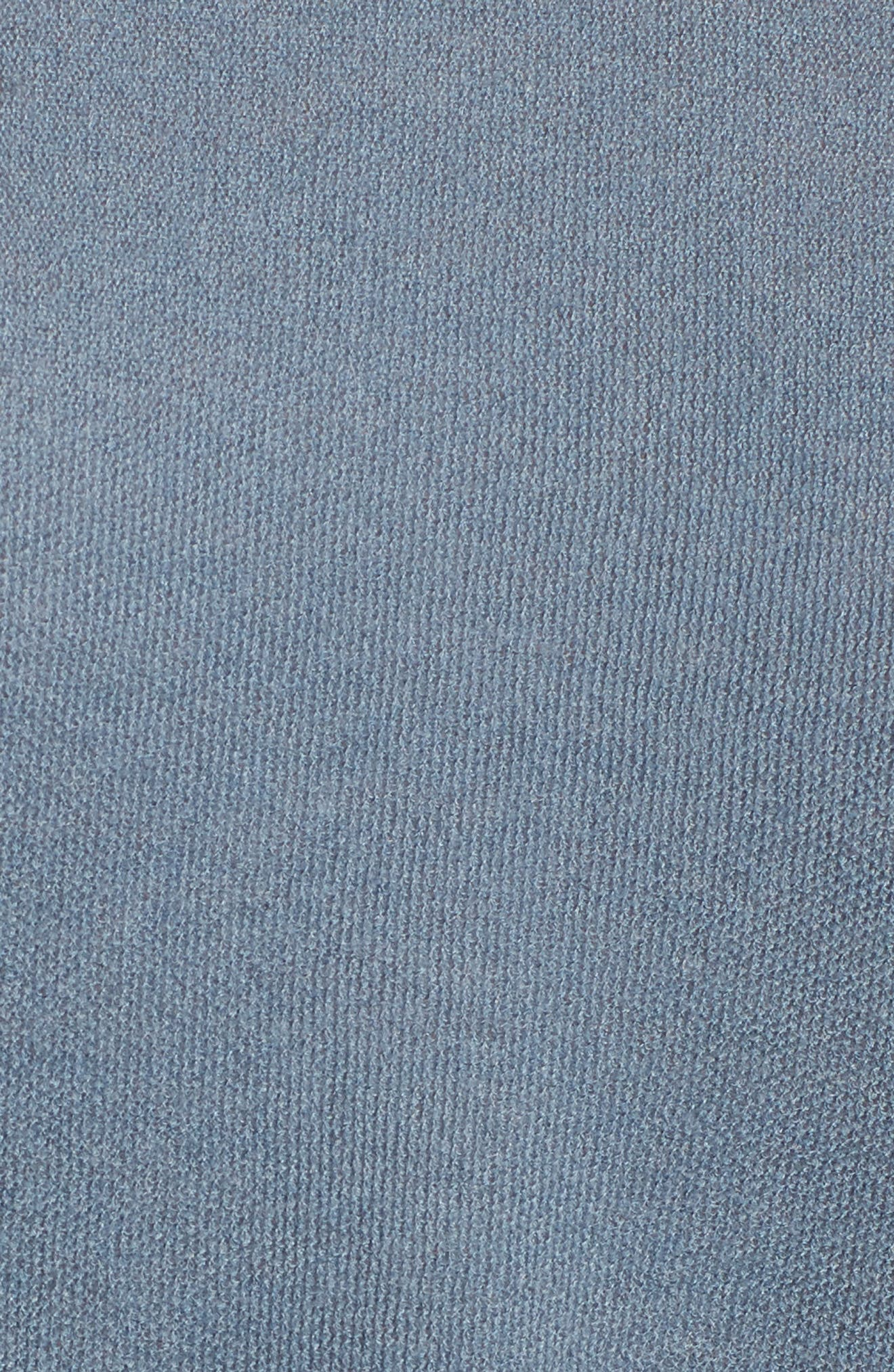 Cashmere Sweater,                             Alternate thumbnail 6, color,                             Heather Cruise