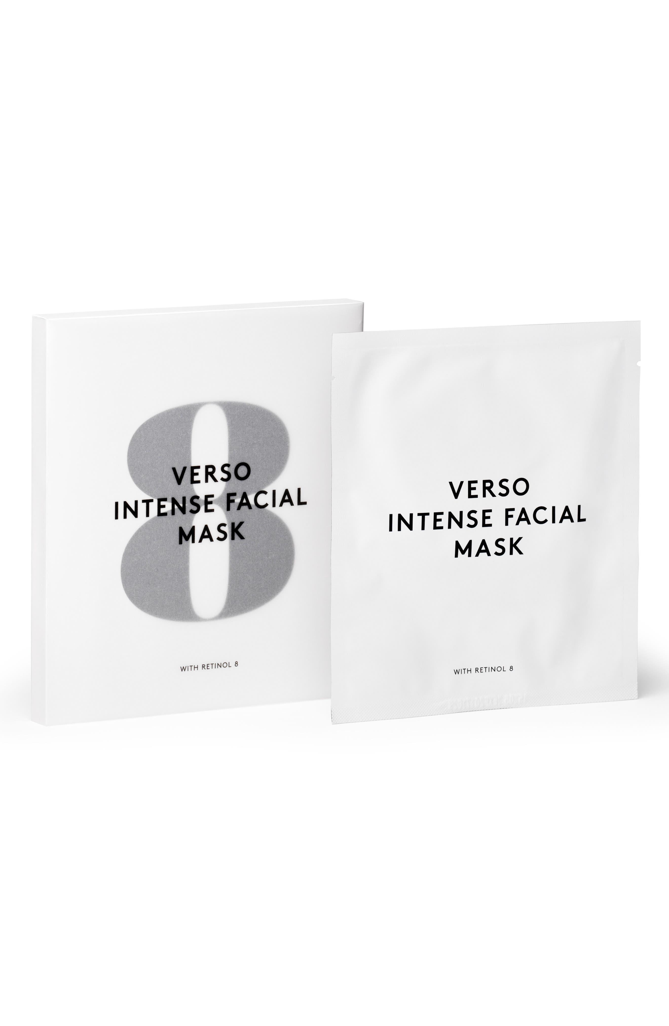SPACE.NK.apothecary Verso Skincare Intense Facial Mask,                             Main thumbnail 1, color,                             No Color