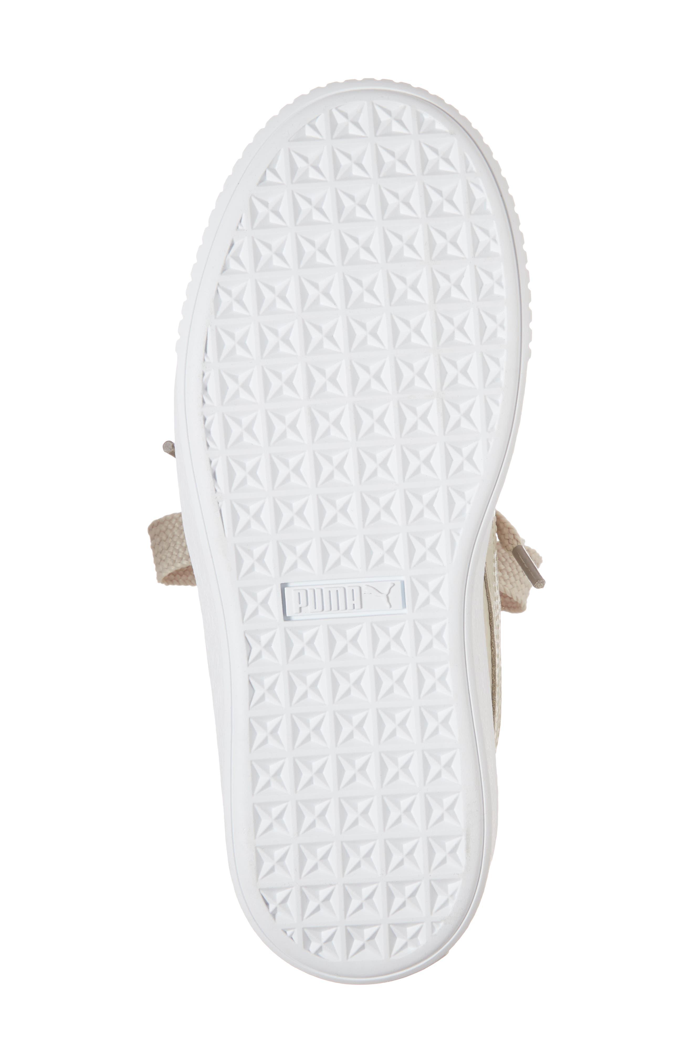 Platform Kiss Sneaker,                             Alternate thumbnail 6, color,                             Ivory