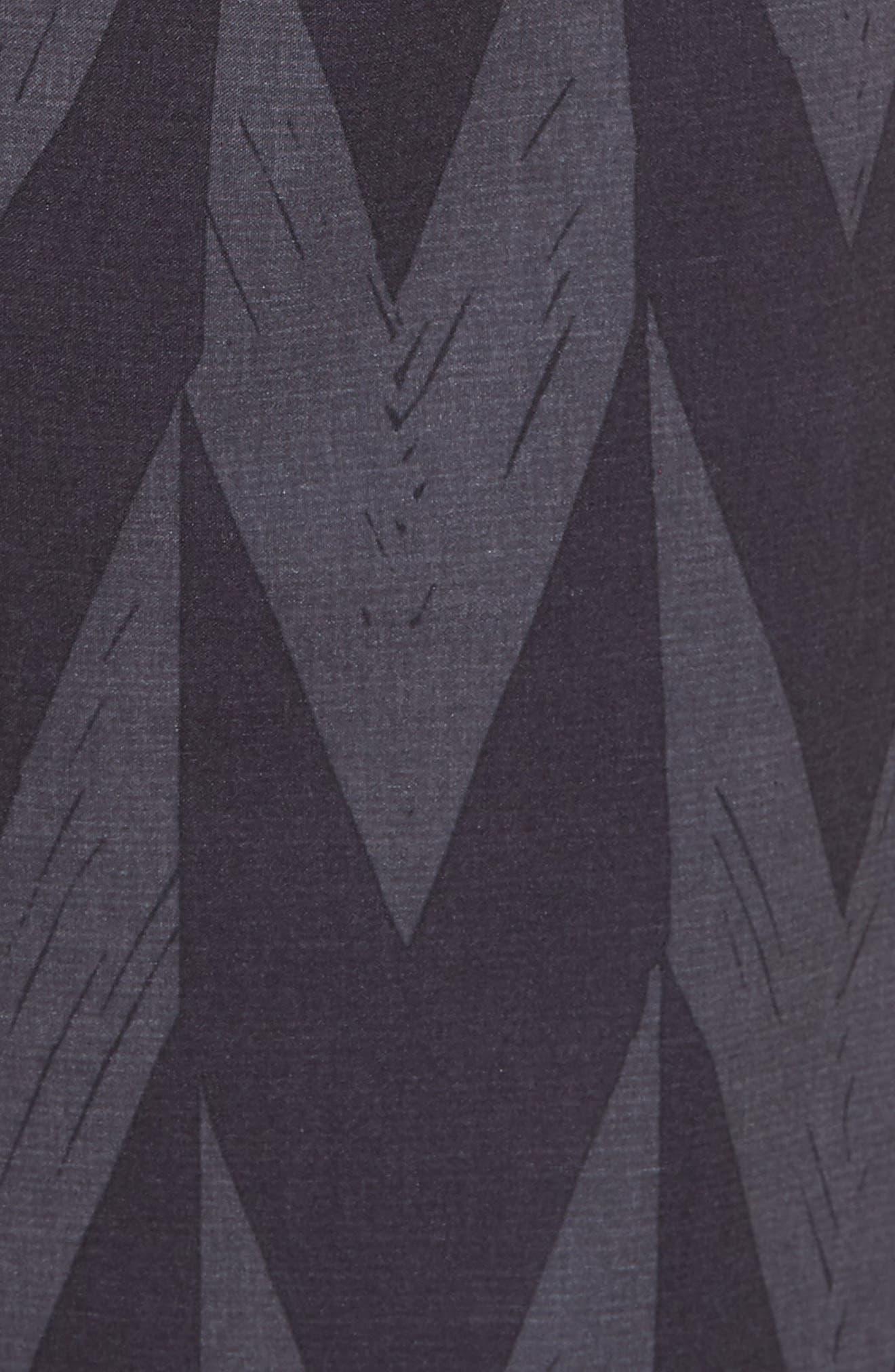 Phantom Bula Board Shorts,                             Alternate thumbnail 5, color,                             Black