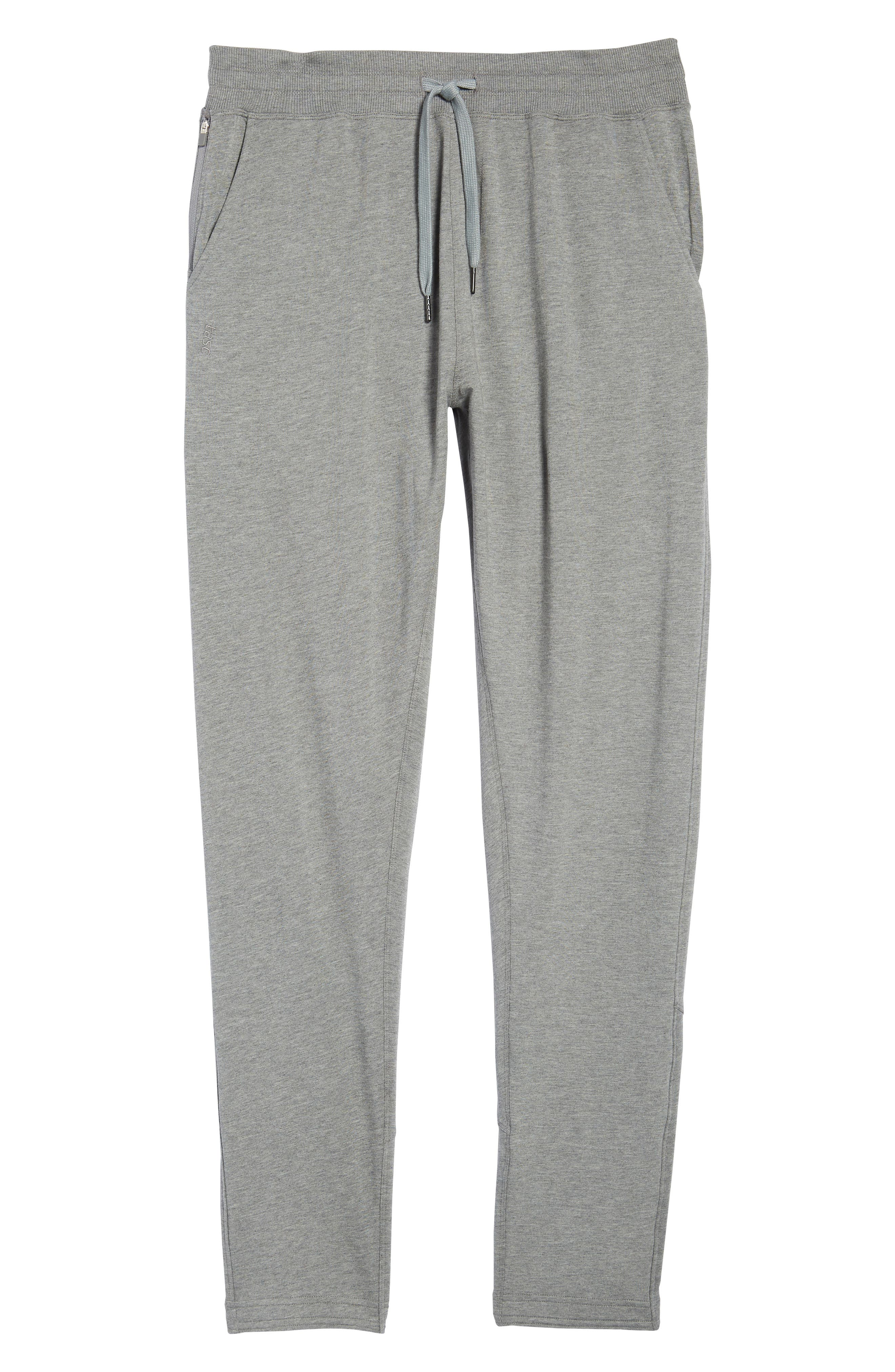 Legacy Lounge Pants,                             Alternate thumbnail 6, color,                             Heather Grey