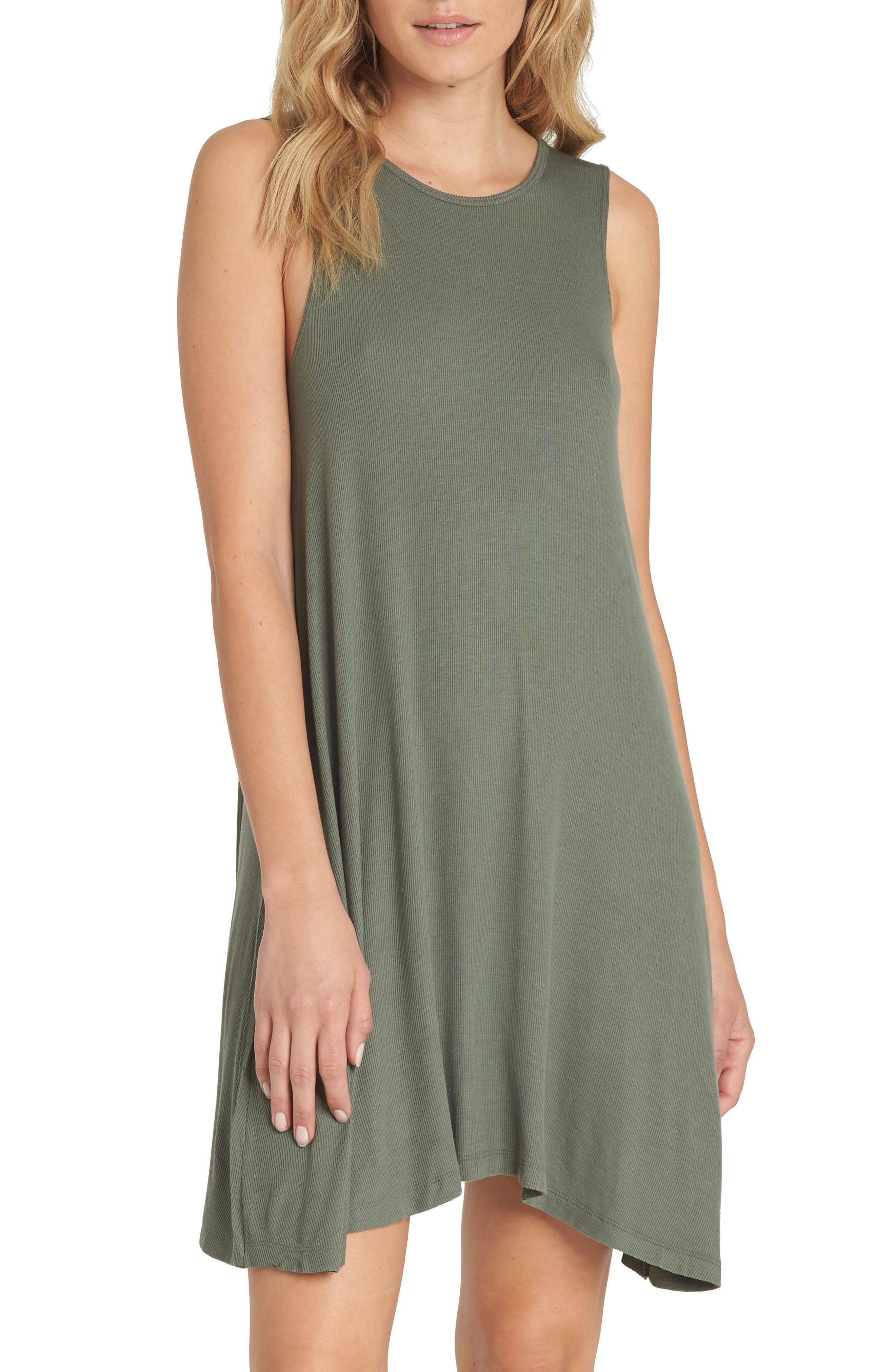 Knockout Swing Dress,                         Main,                         color, Clover