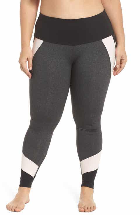 Beyond Yoga Around the Colorblock Leggings (Plus Size)