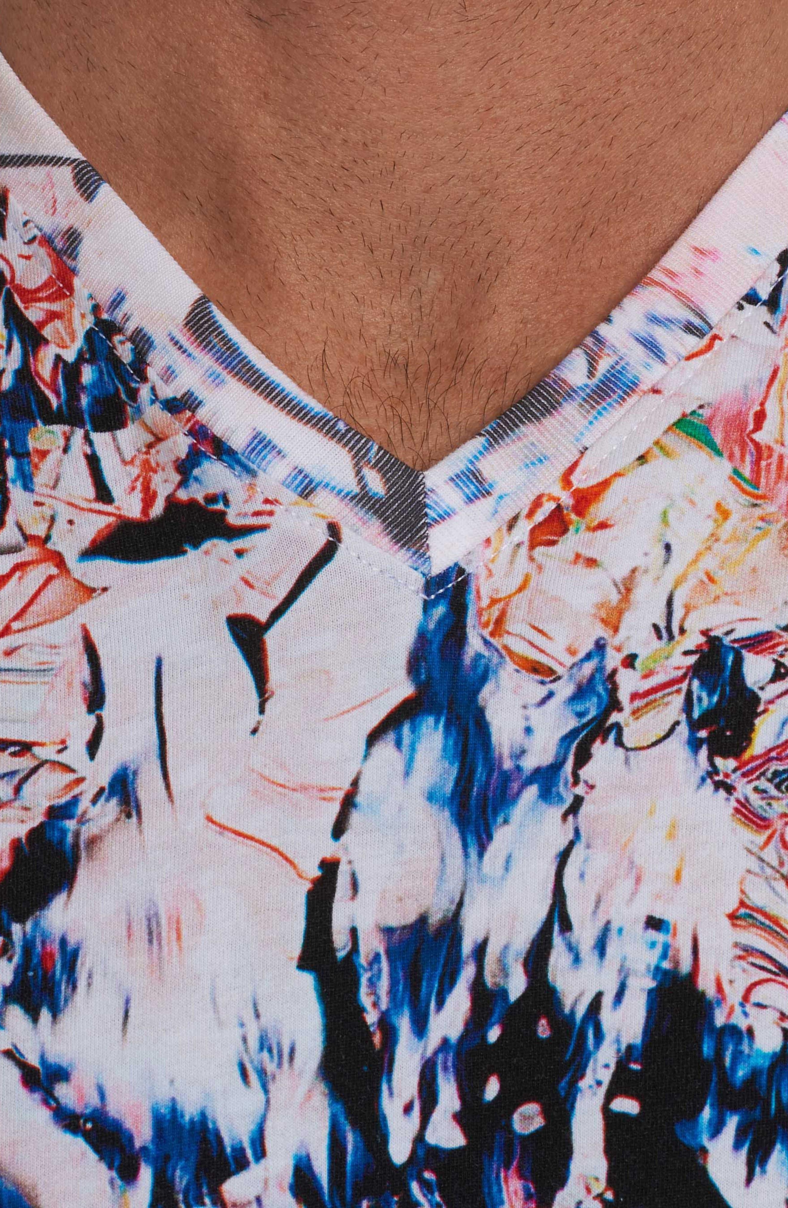 Lima T-Shirt,                             Alternate thumbnail 4, color,                             Multi