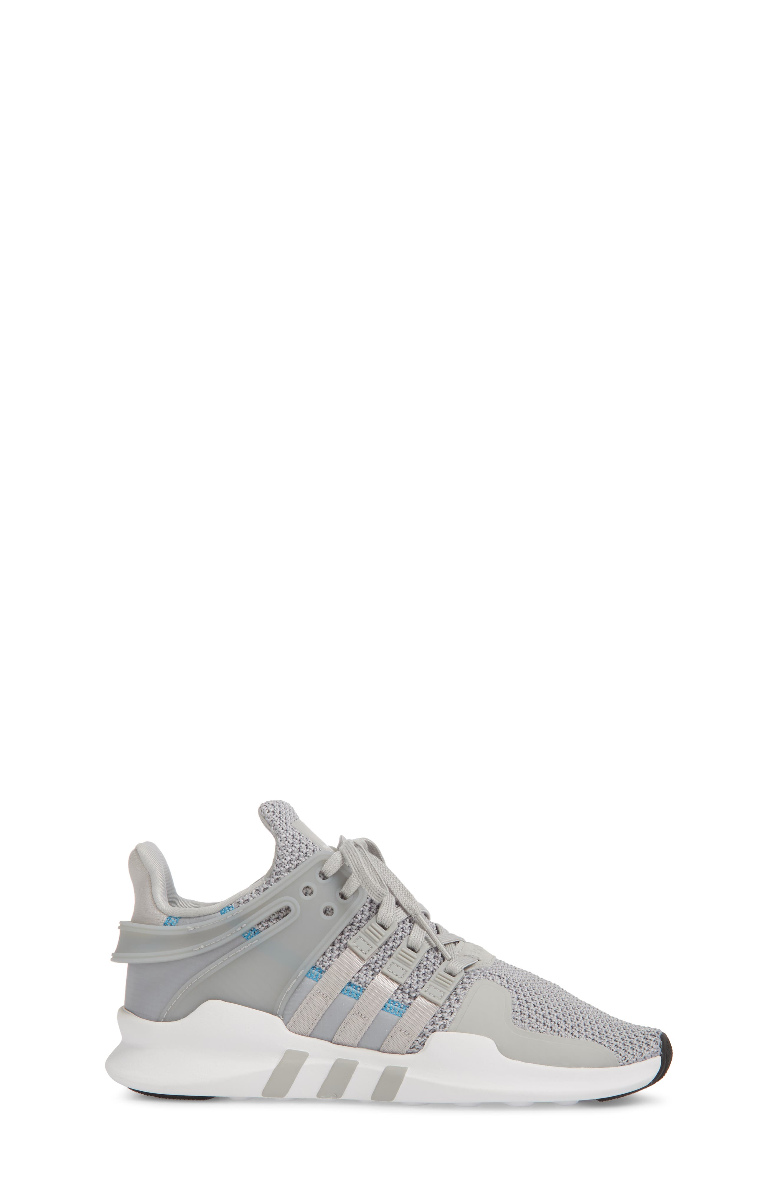 EQT Support Adv Sneaker,                             Alternate thumbnail 3, color,                             Grey / Grey / White