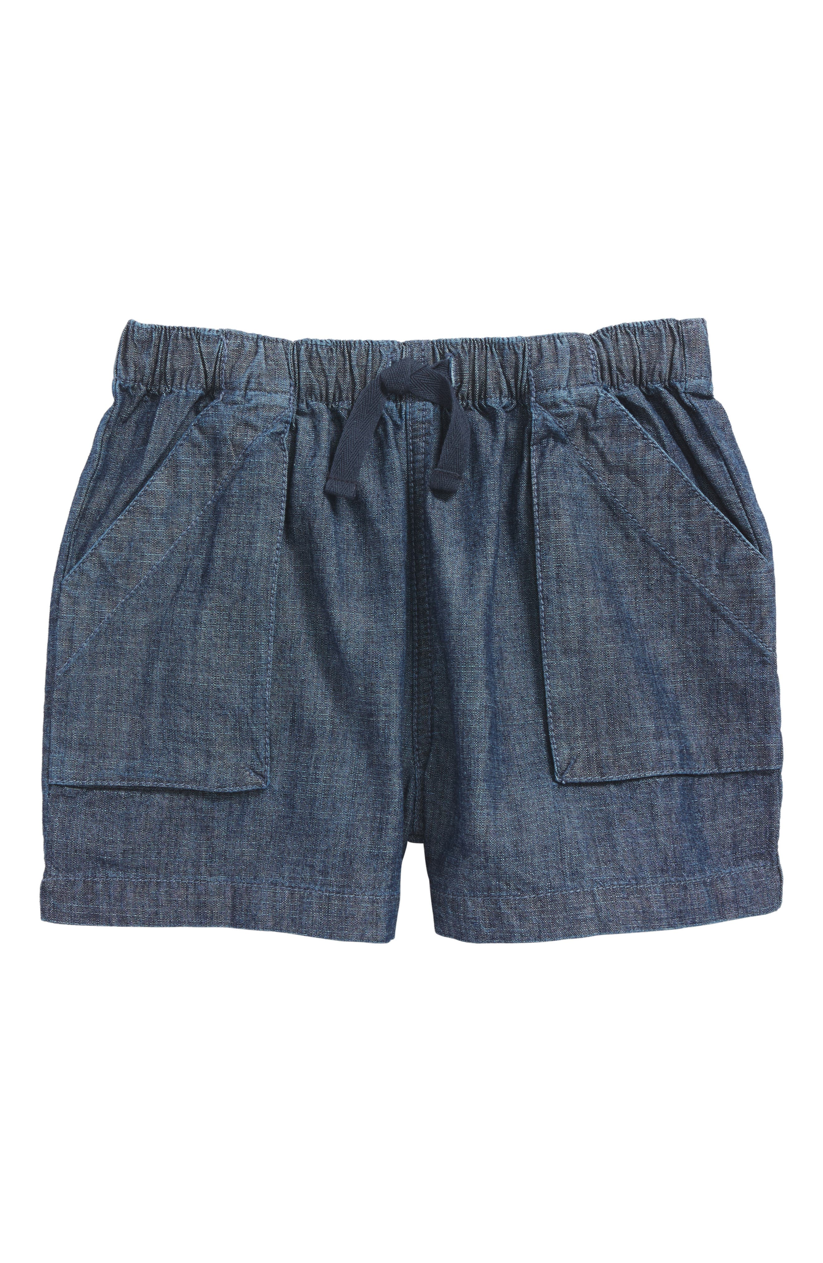 Tea Collection Chambray Shorts (Toddler Girls, Little Girls & Big Girls)