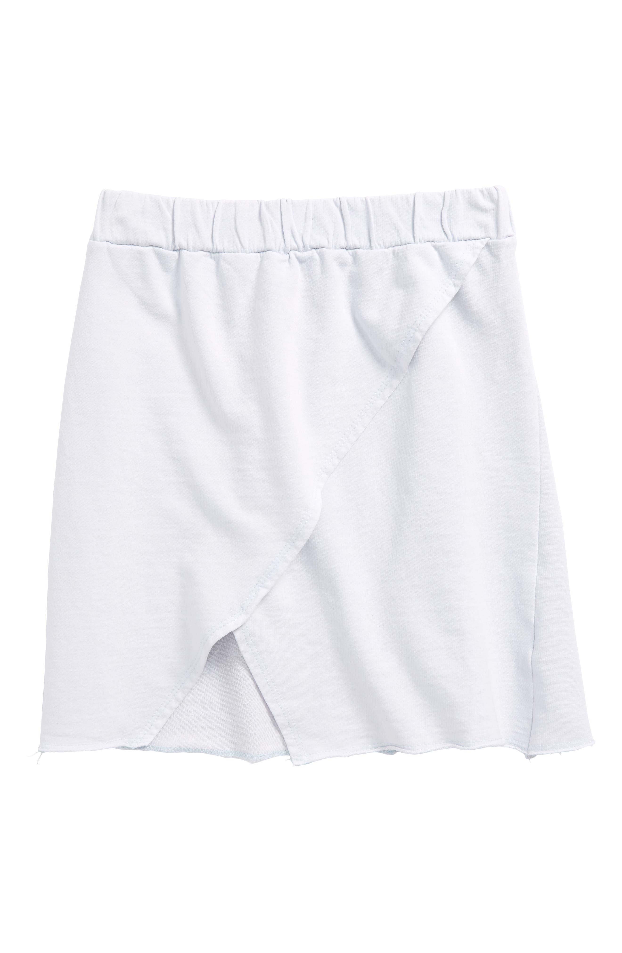 Spitz Knit Skirt,                             Main thumbnail 1, color,                             Grey