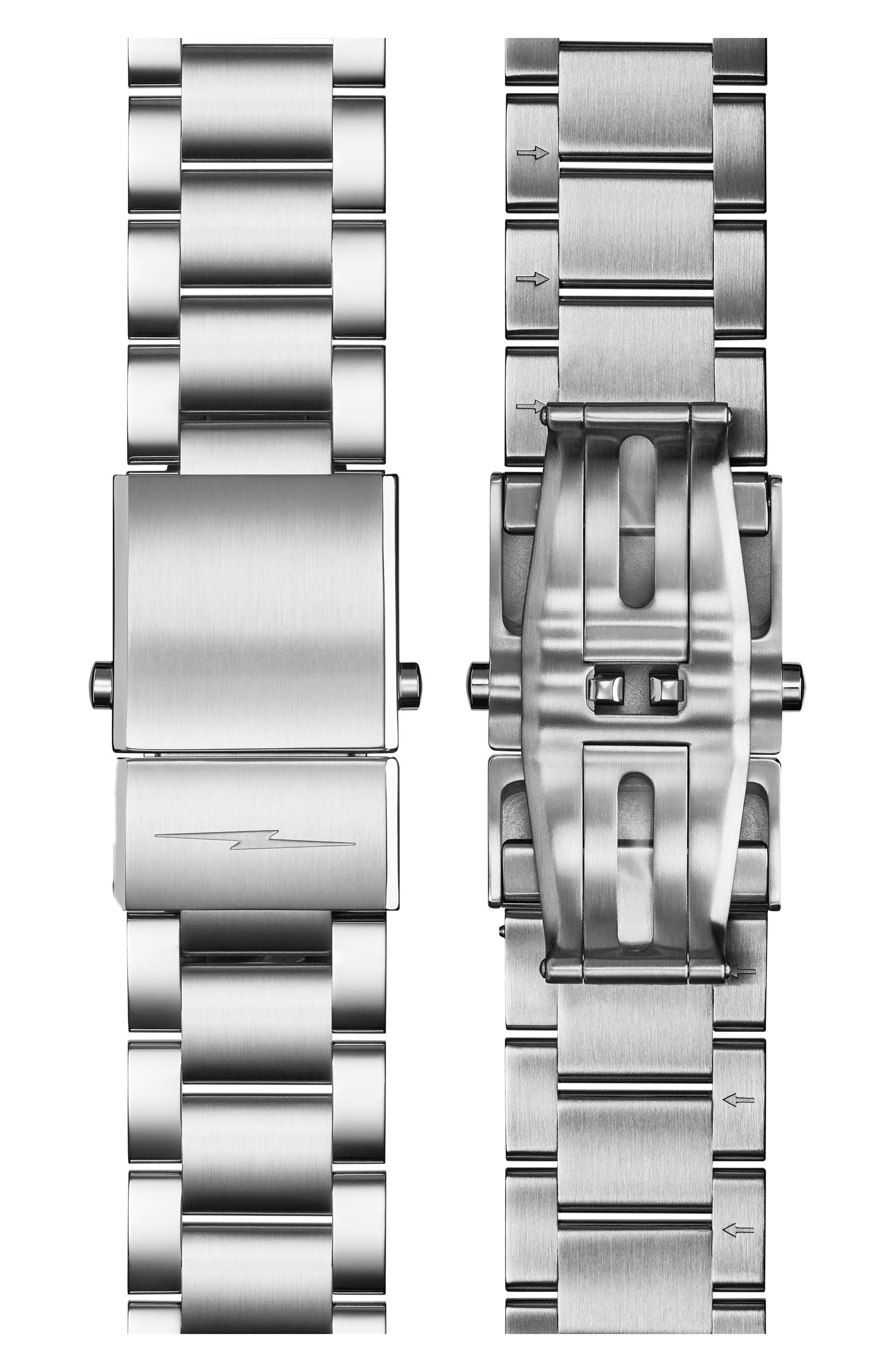Alternate Image 4  - Shinola Bedrock Bracelet Watch, 42mm