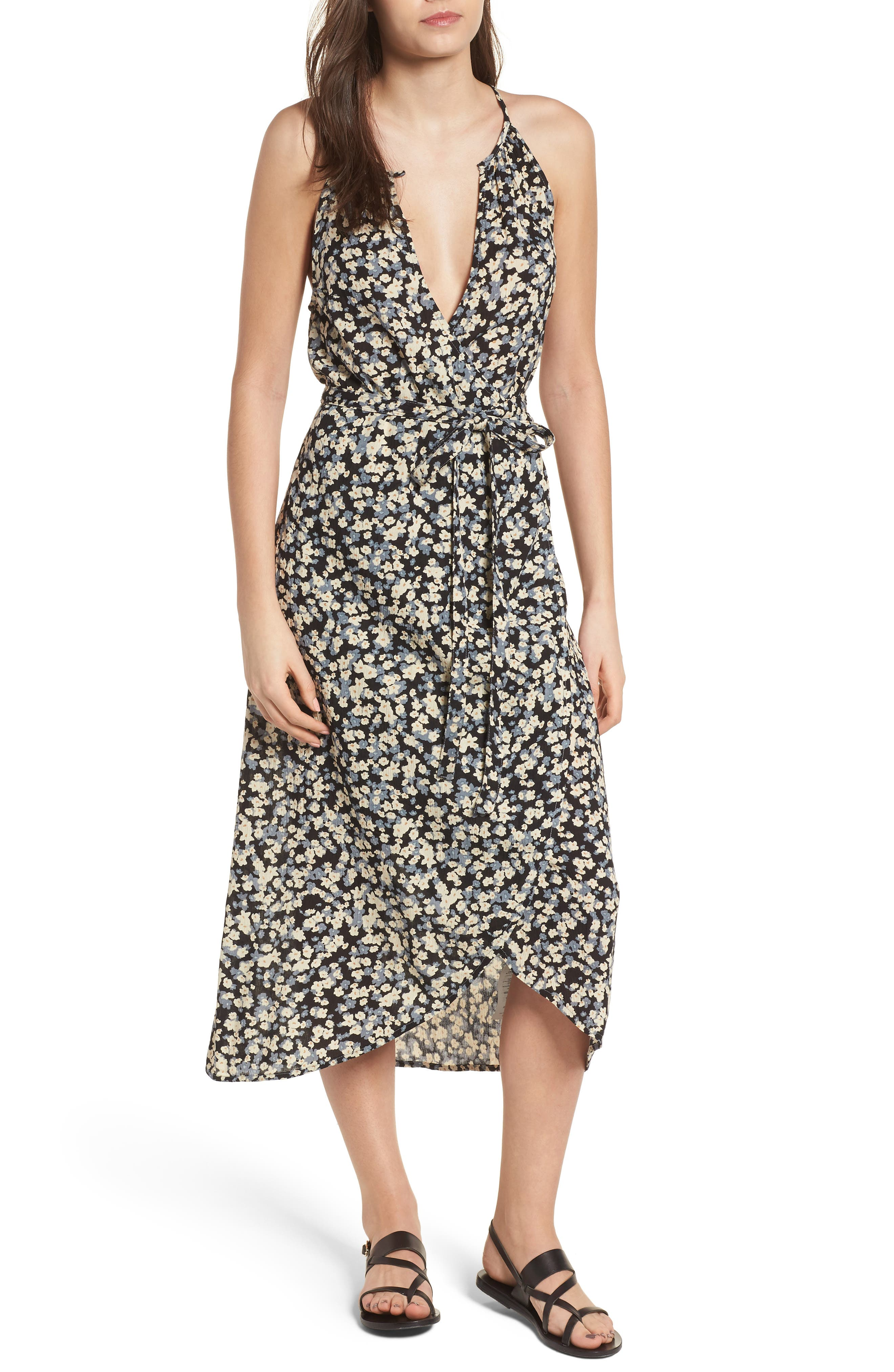Billabong Aloha Babe Print Midi Dress