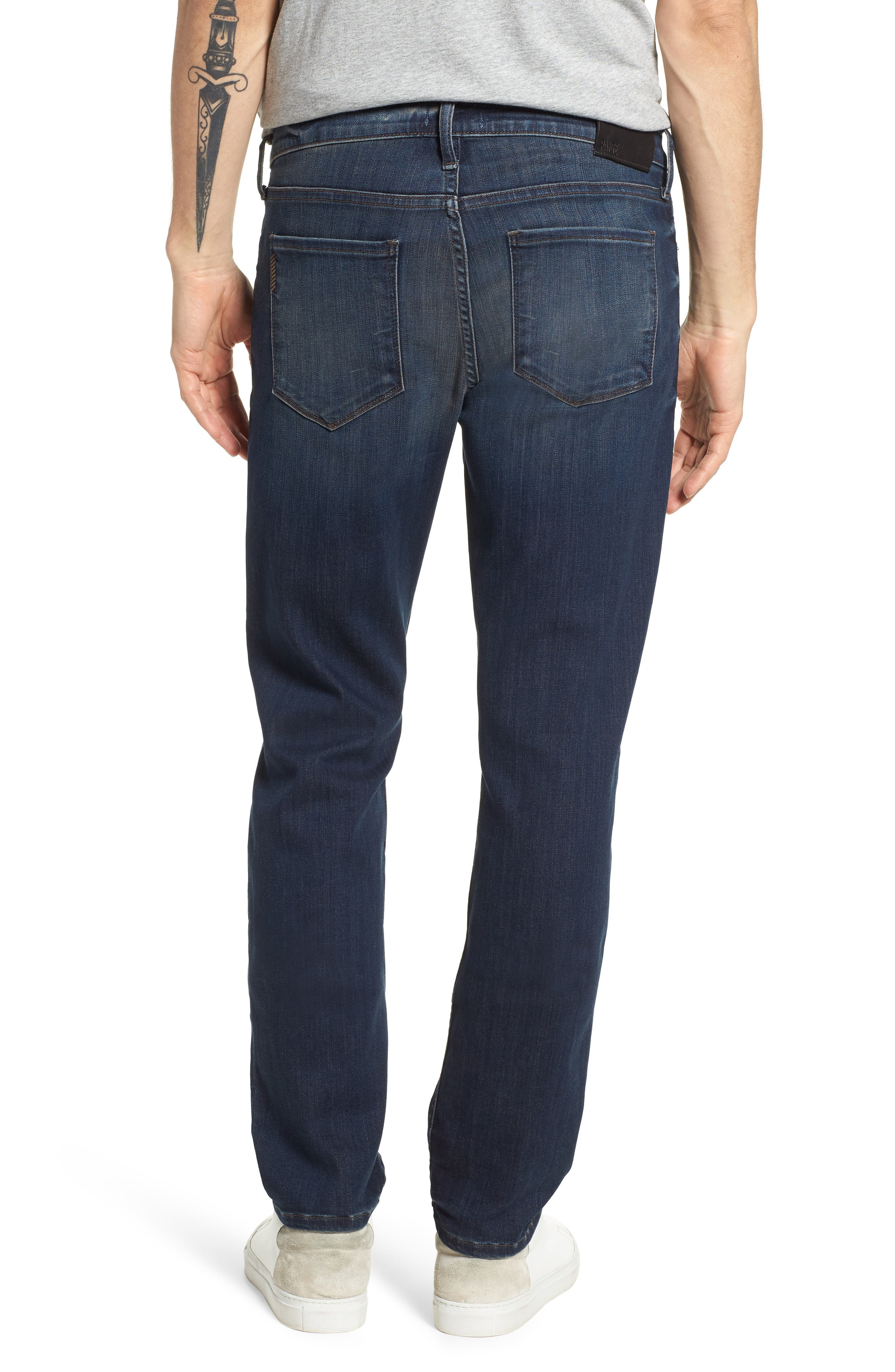 Transcend - Lennox Slim Fit Jeans,                             Alternate thumbnail 2, color,                             Freeman