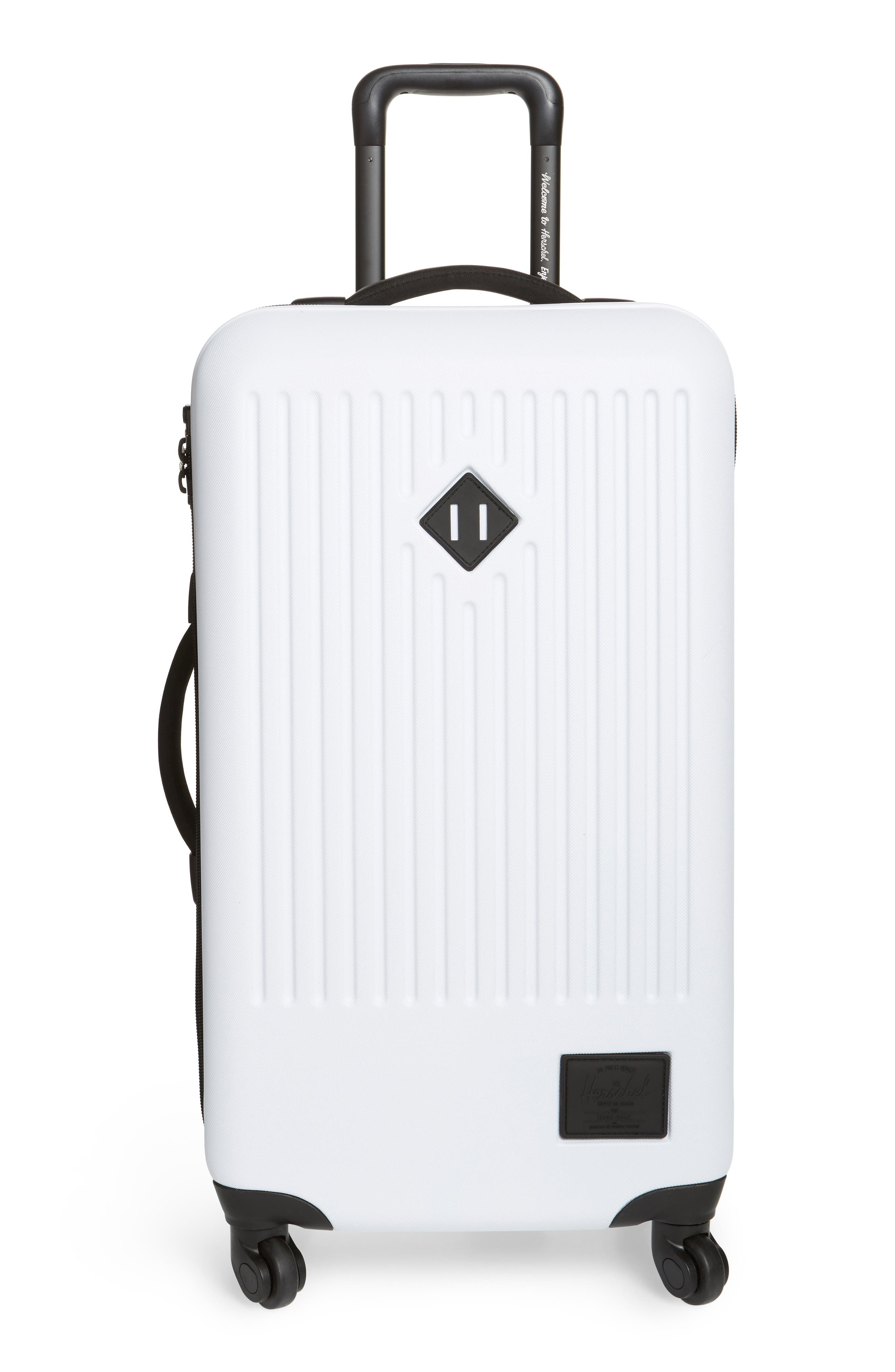 Medium Trade Wheeled Packing Case,                         Main,                         color, White