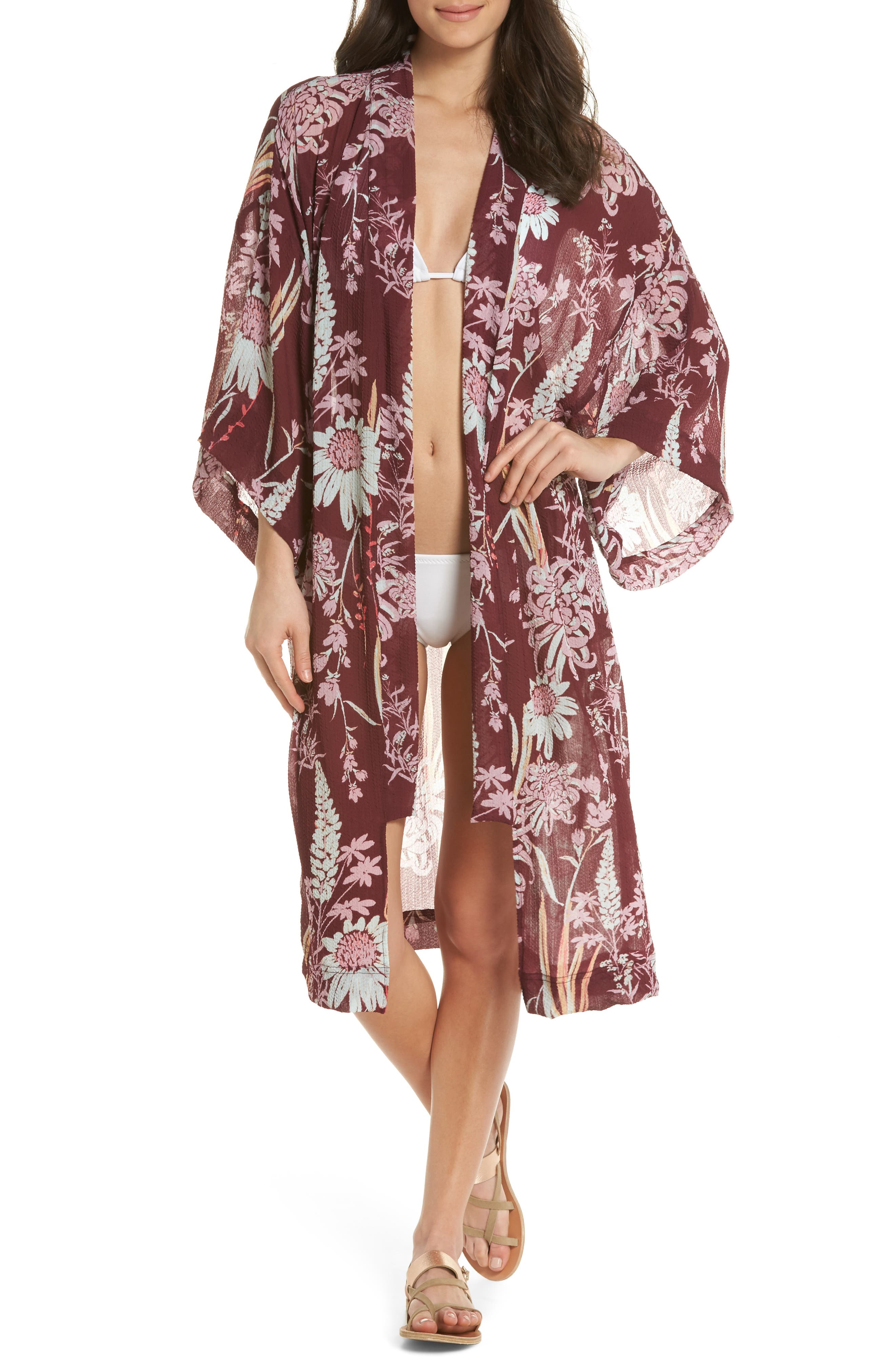 Main Image - Free People If You Say So Long Wrap