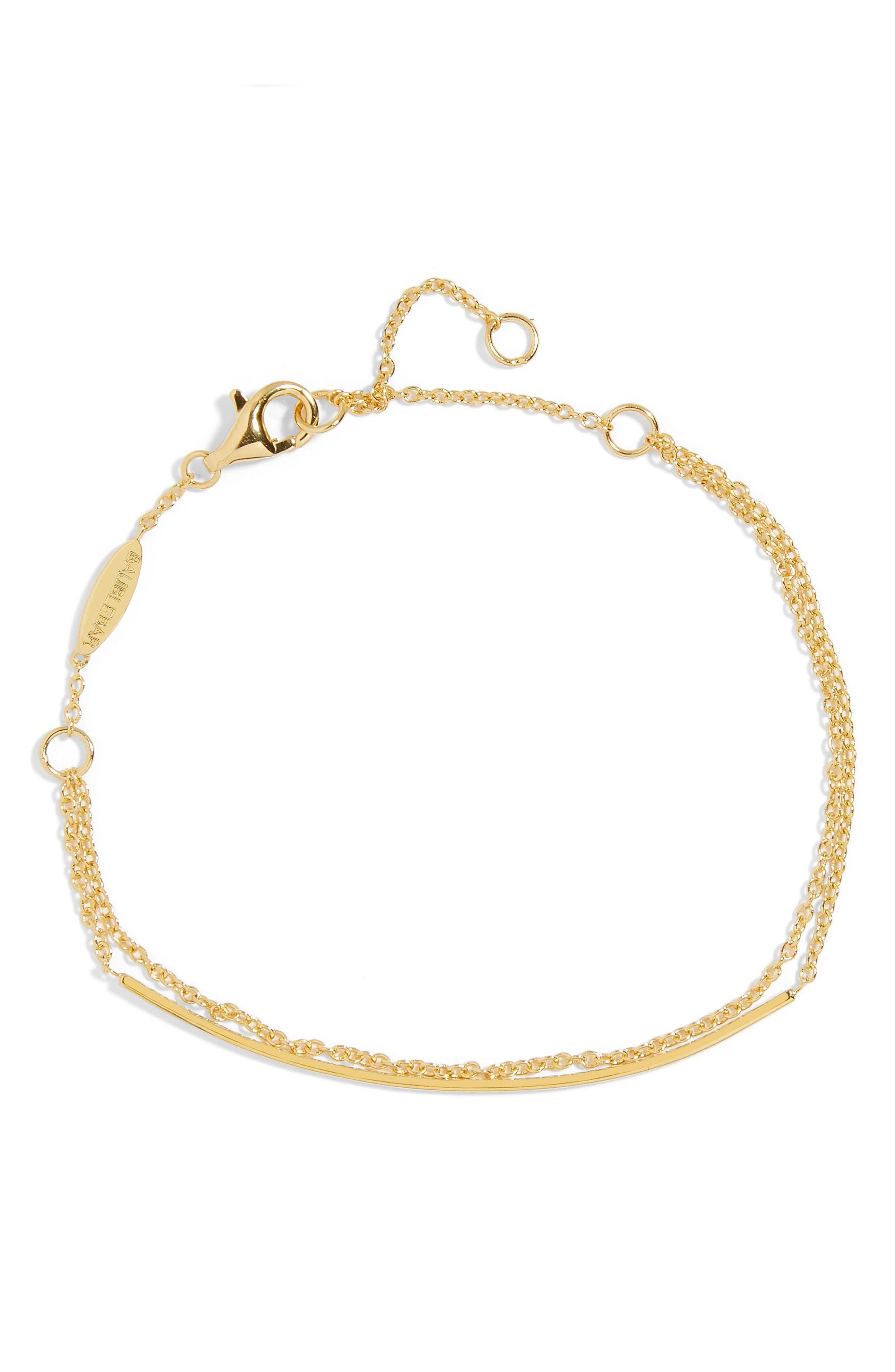Giro Everyday Fine Bracelet,                             Main thumbnail 1, color,                             Gold