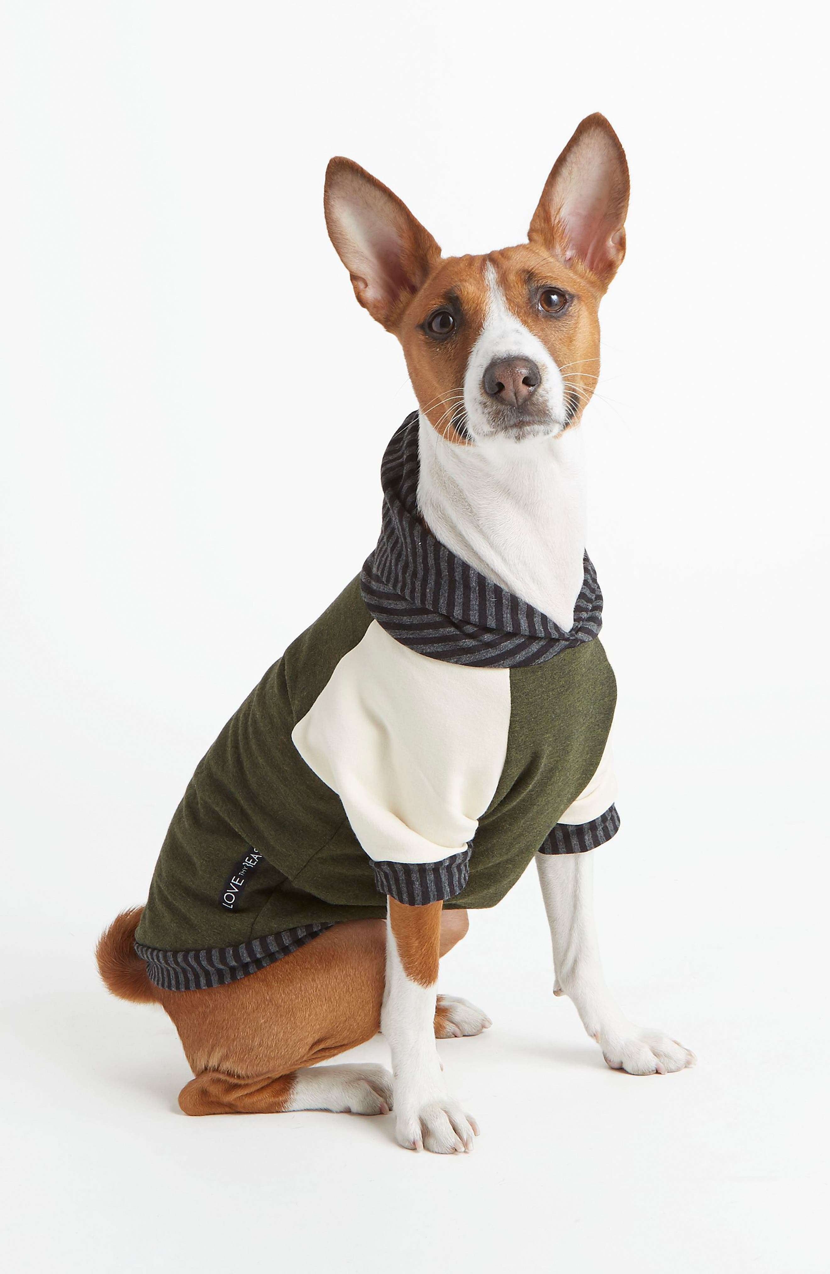 Alternate Image 1 Selected - LoveThyBeast Fleece Dog Hoodie