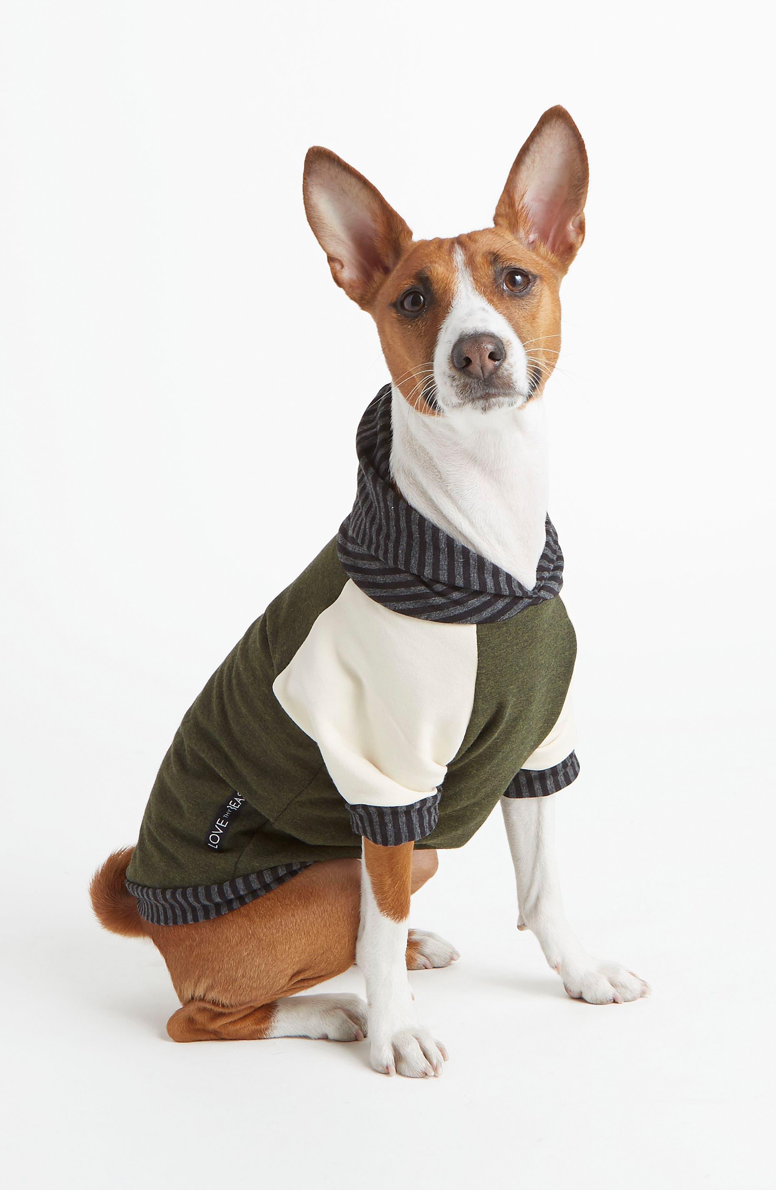 Main Image - LoveThyBeast Fleece Dog Hoodie