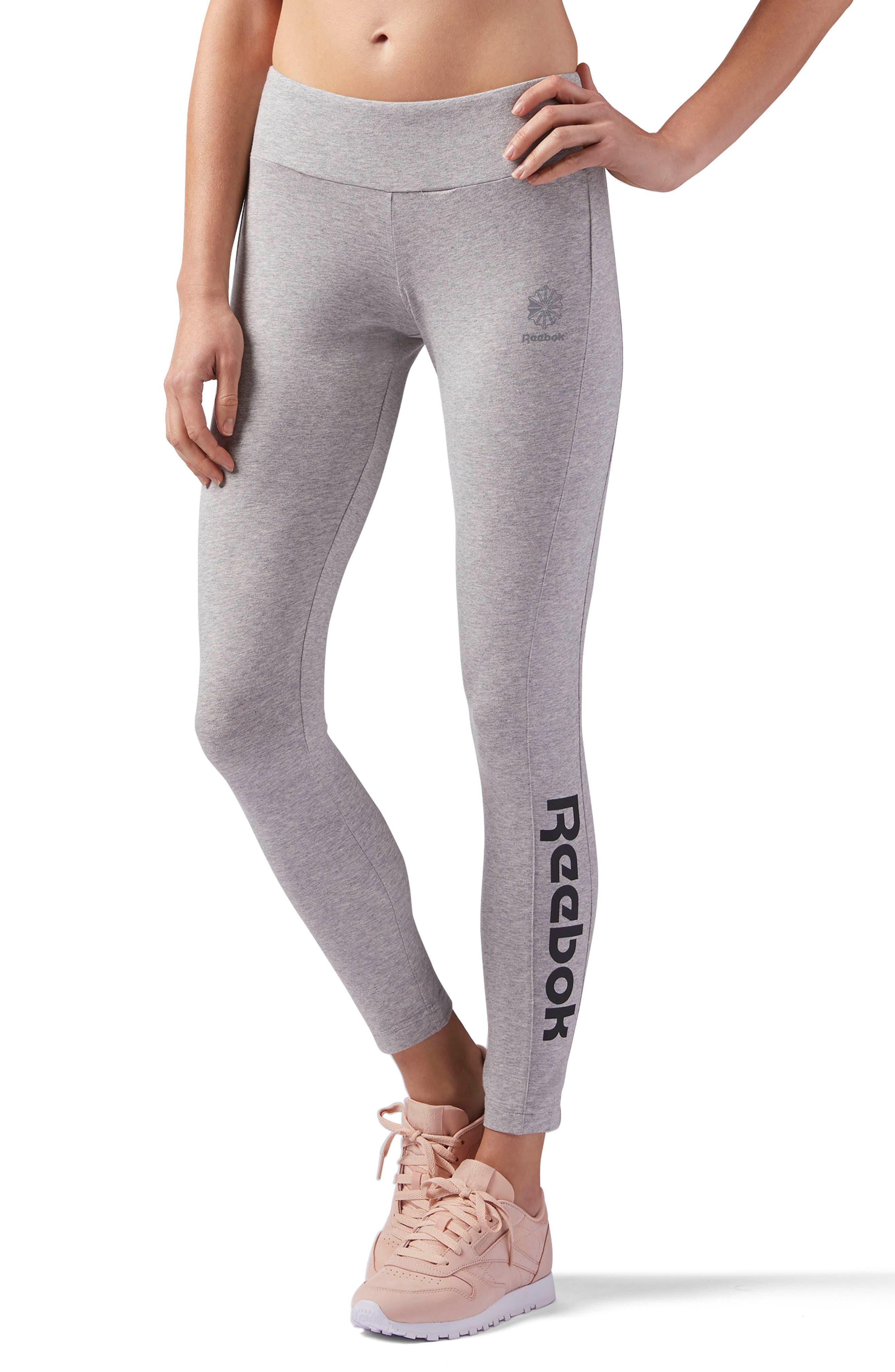 Classic Leggings,                             Main thumbnail 1, color,                             Medium Grey Heather