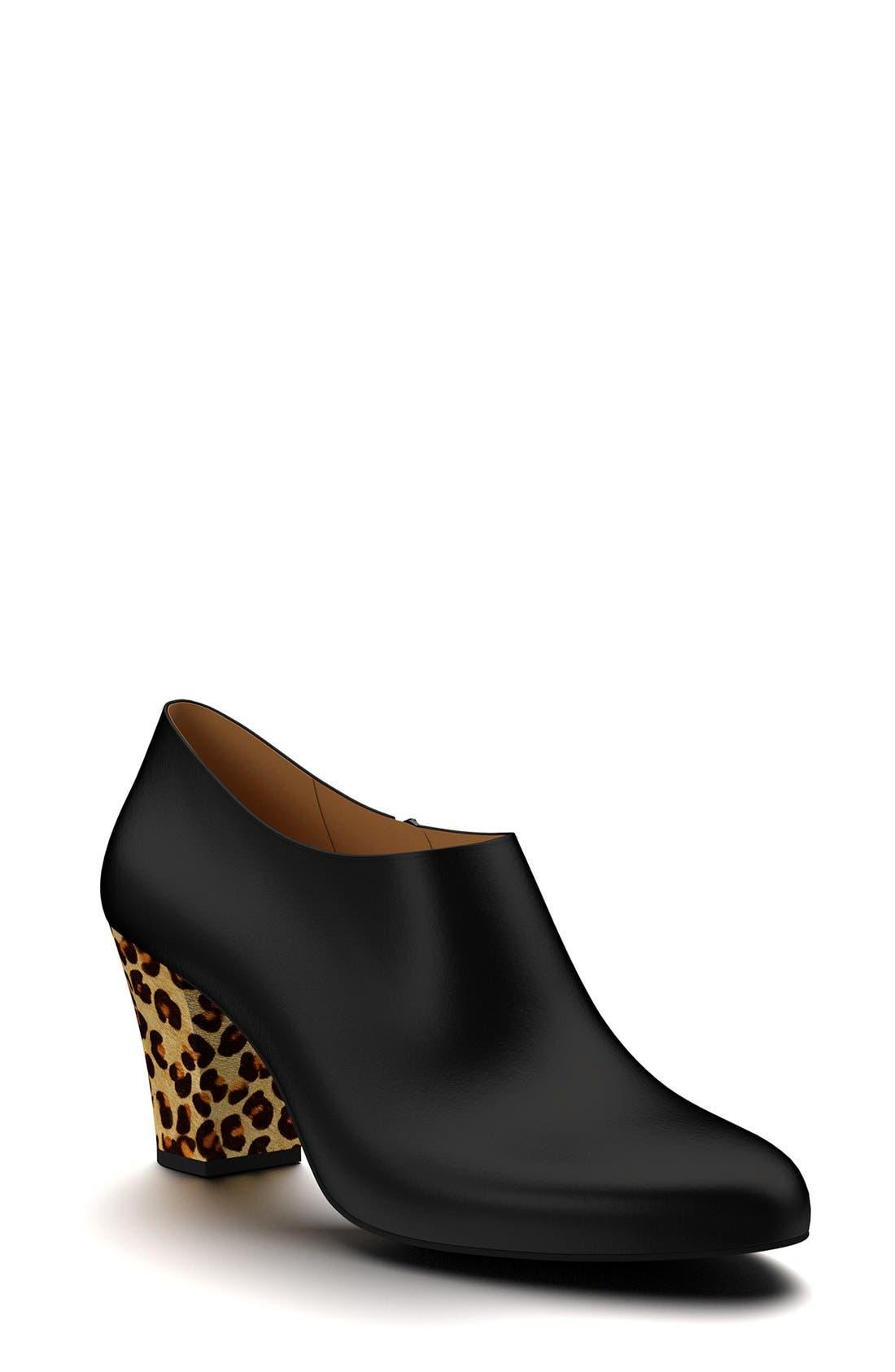 Main Image - Shoes of Prey & Genuine Calf Hair  Bootie (Women)