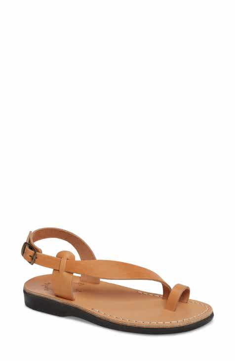 ae3a1de094b54 Women s Jerusalem Sandals Flat Heeled Sandals