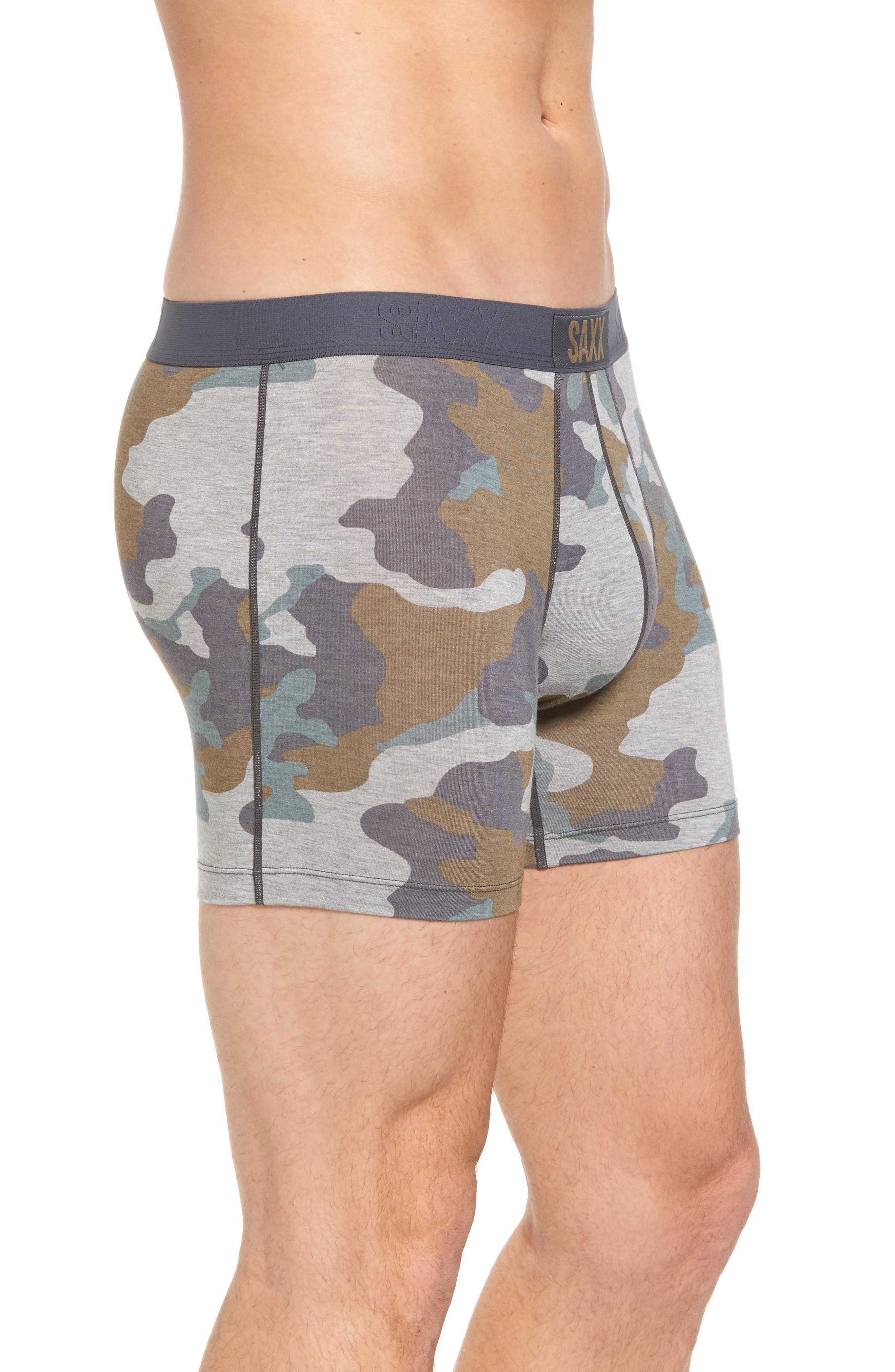 Vibe Boxer Briefs,                             Alternate thumbnail 3, color,                             Grey Supersize Camo