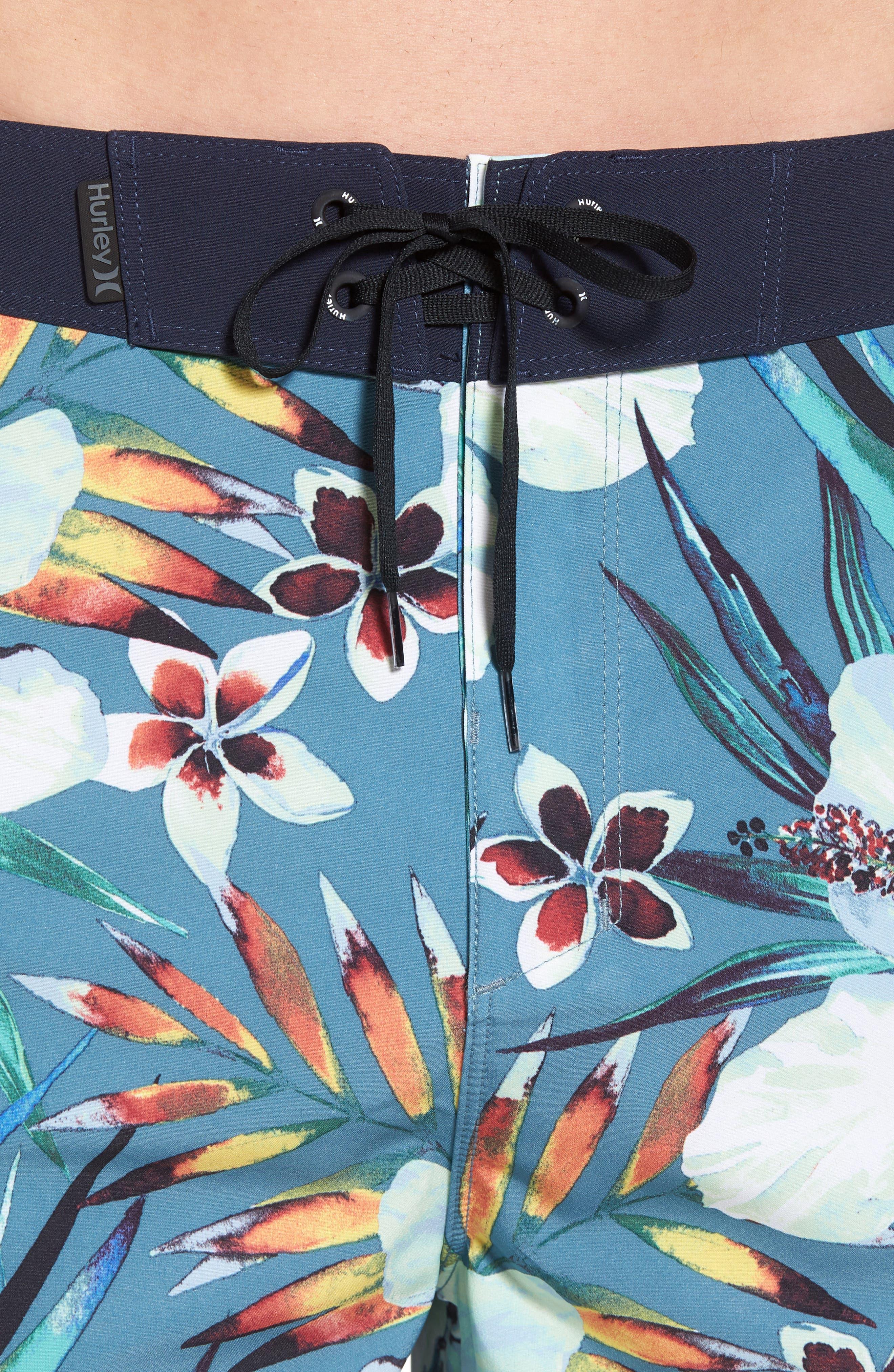 Alternate Image 4  - Hurley Phantom Garden Board Shorts