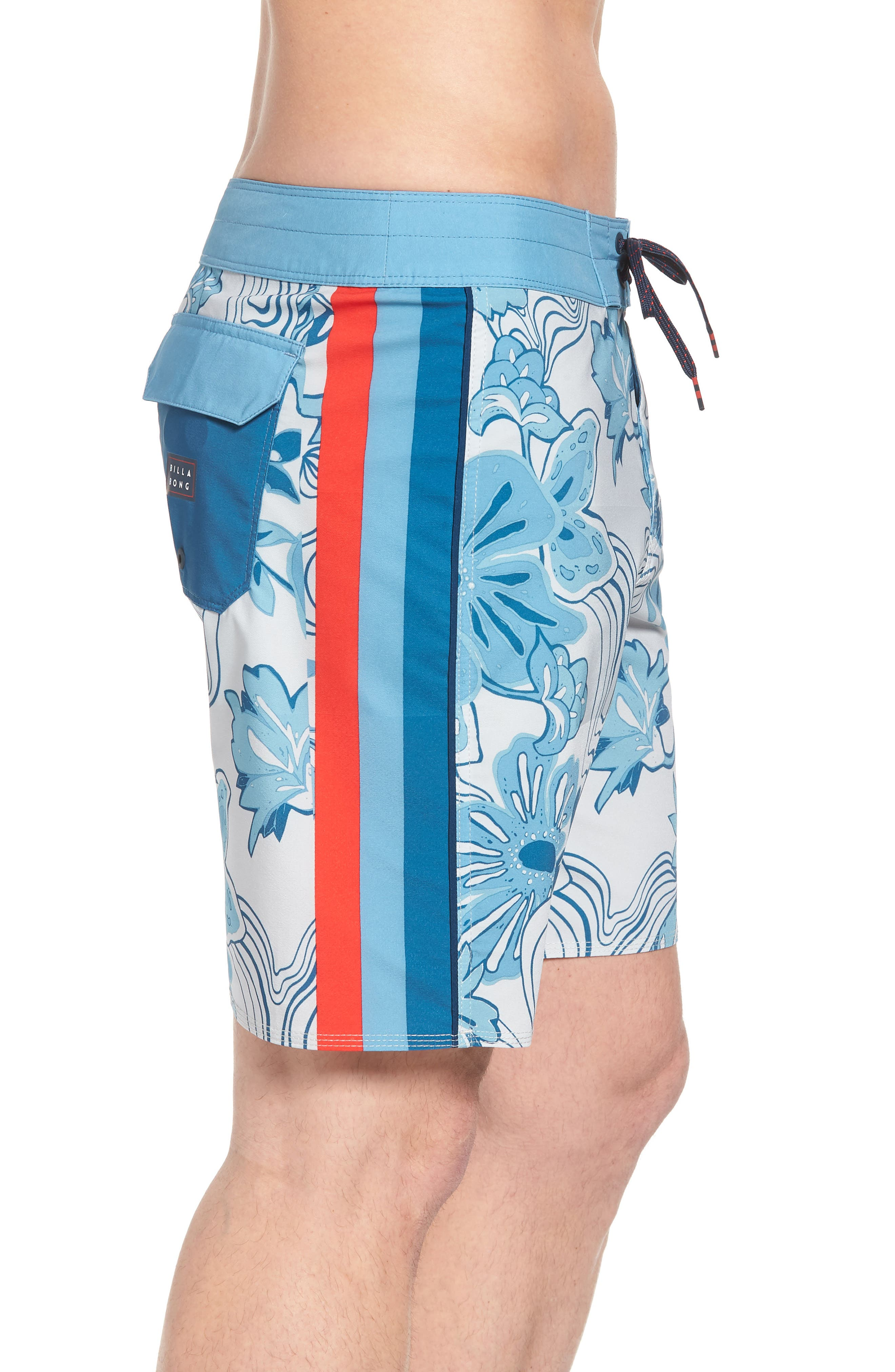 D Bah Airlite Board Shorts,                             Alternate thumbnail 3, color,                             Stone