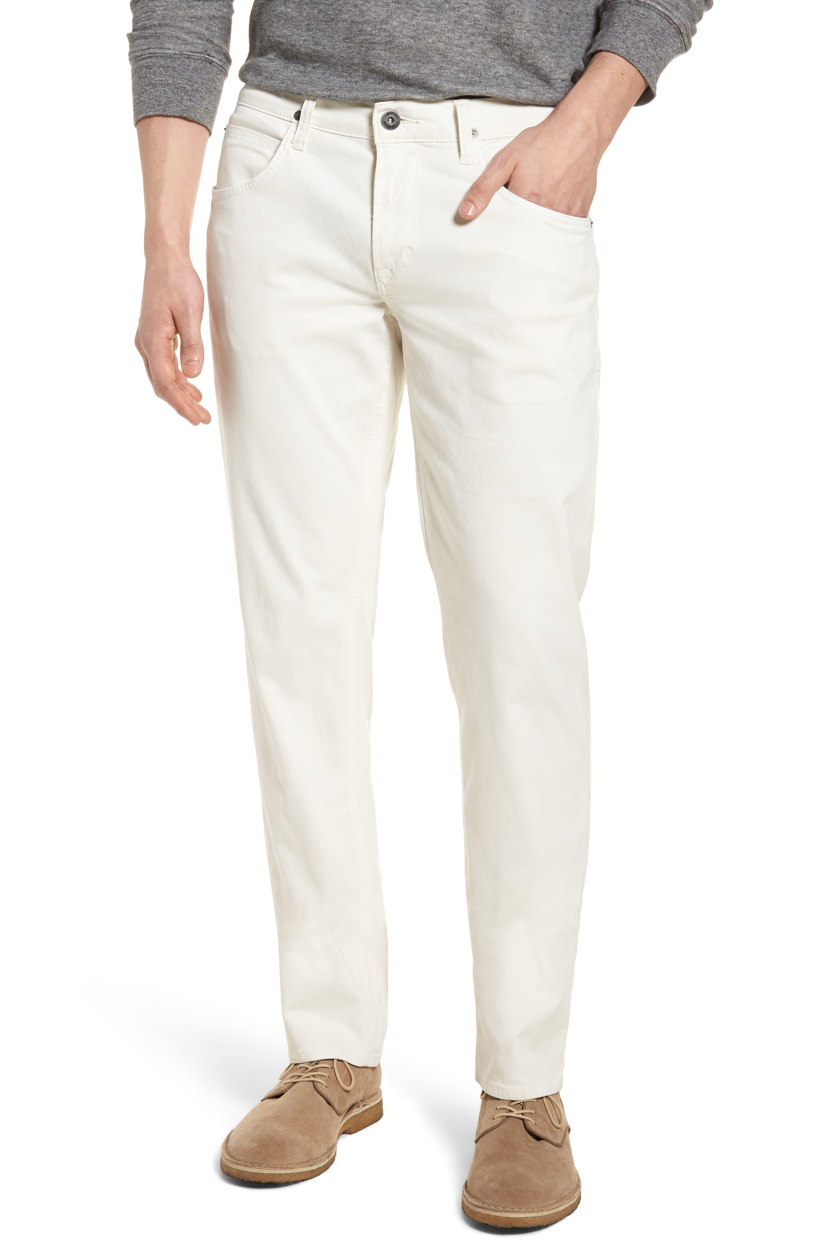 Blake Slim Fit Jeans,                             Main thumbnail 1, color,                             Off White