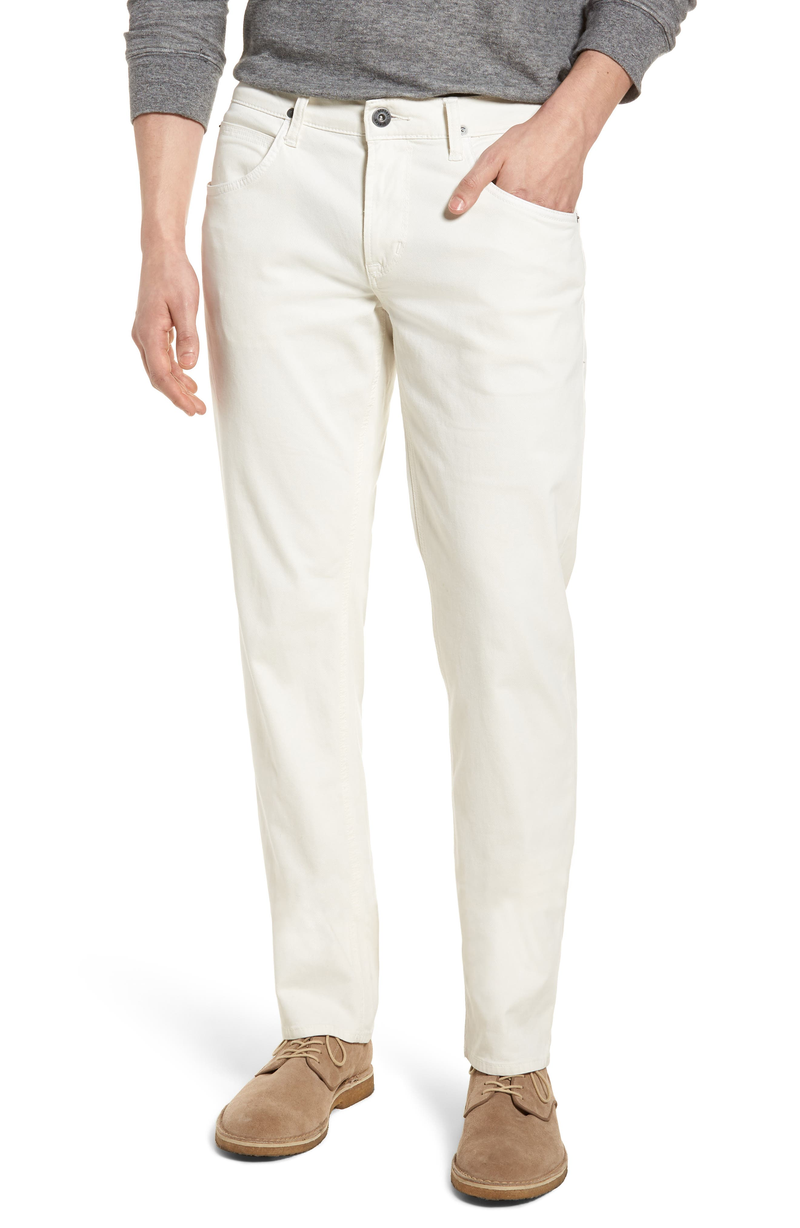 Blake Slim Fit Jeans,                         Main,                         color, Off White