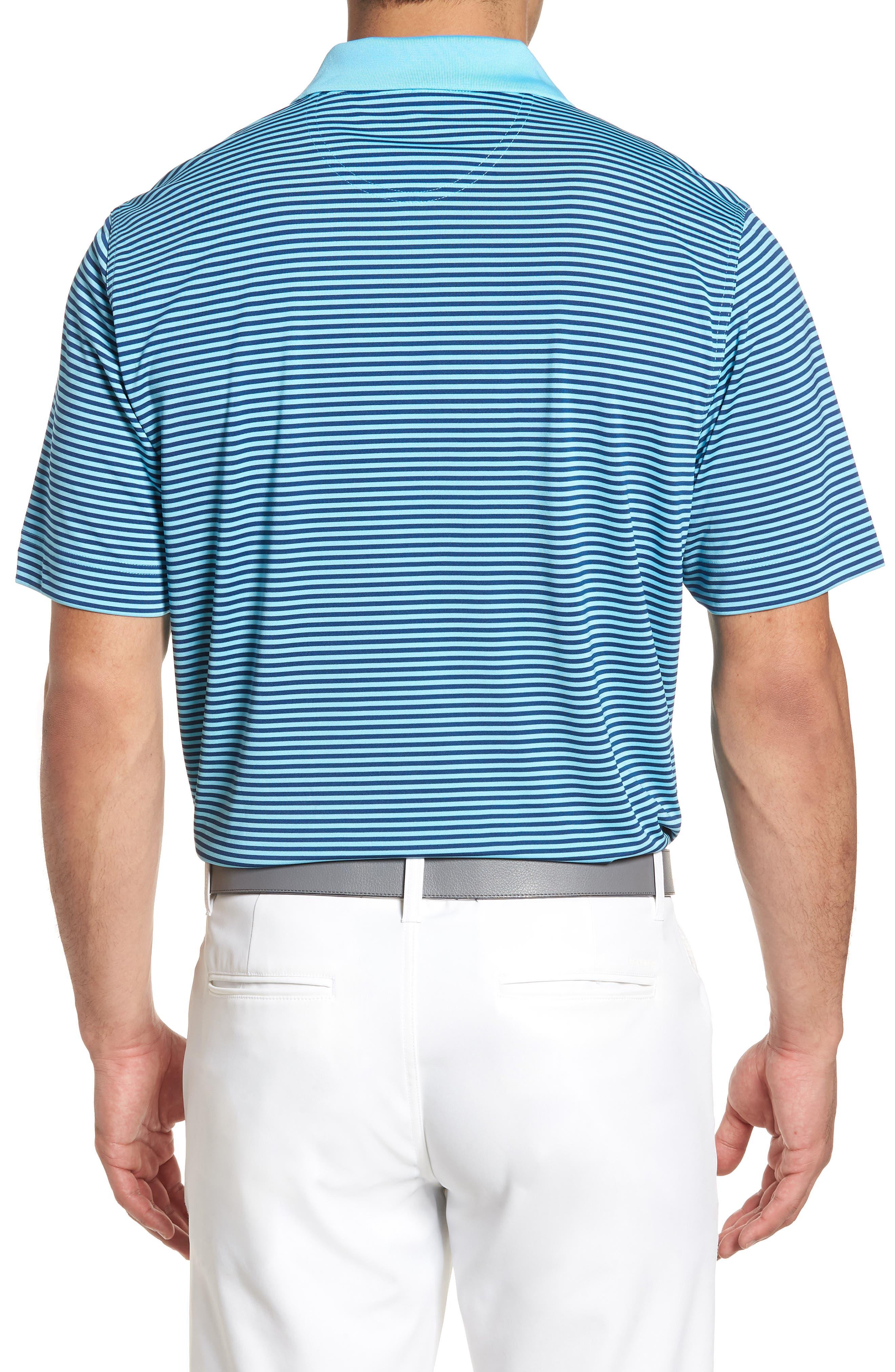 Alternate Image 2  - Cutter & Buck Trevor Stripe DryTec Polo