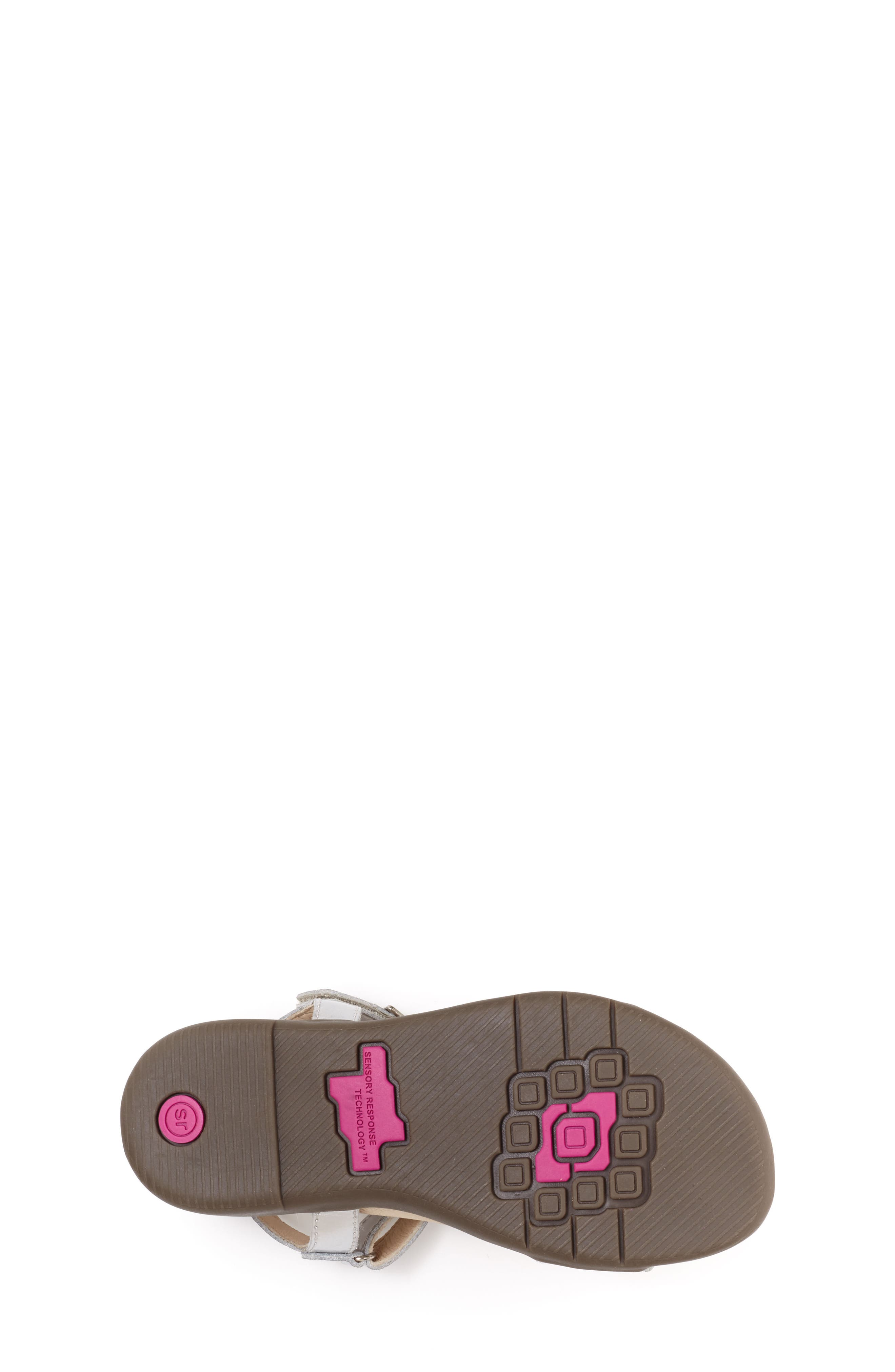 Roxanna Sandal,                             Alternate thumbnail 5, color,                             Silver Patent Leather