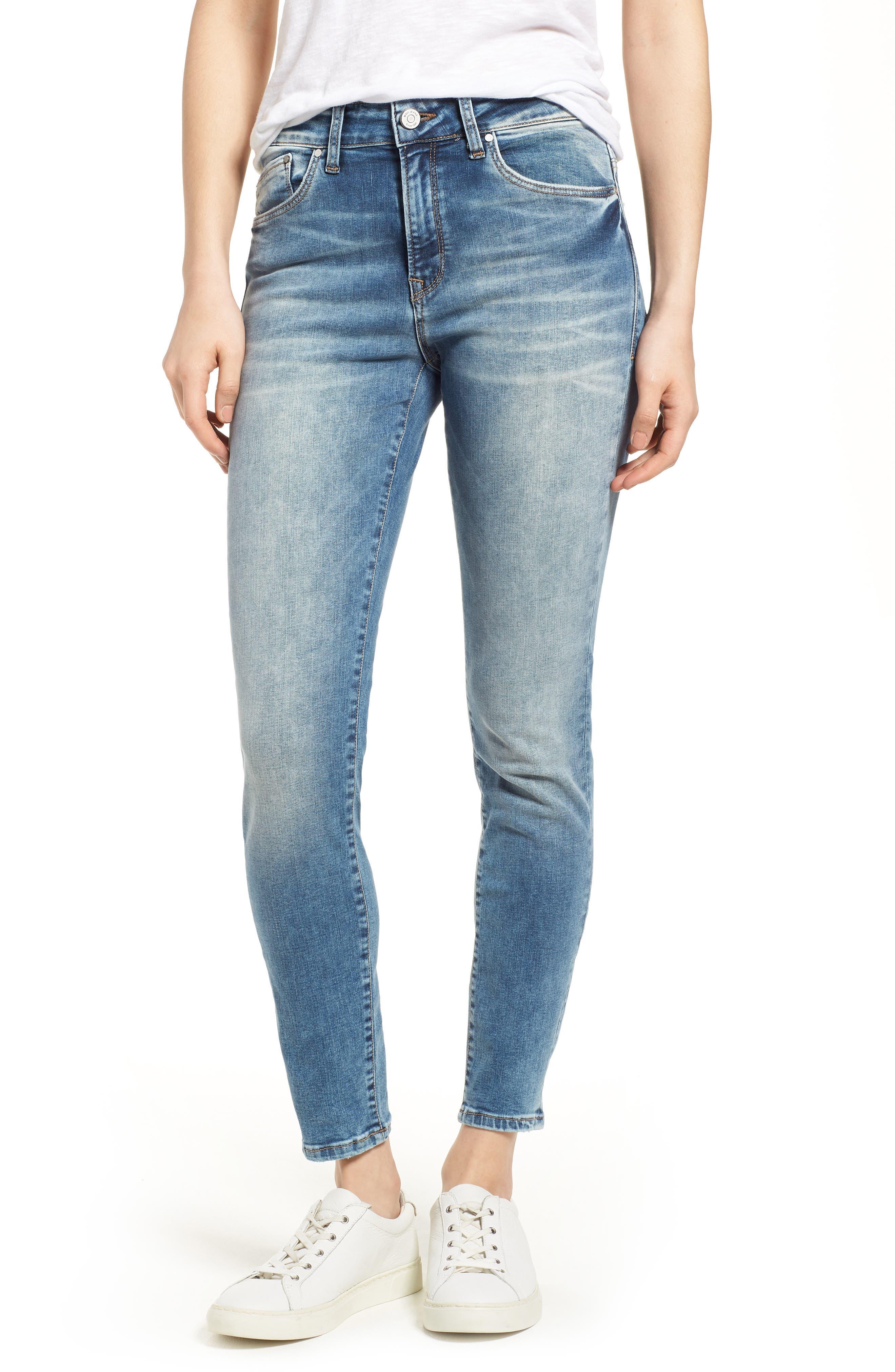 Alissa Ankle Jeans,                         Main,                         color, Random Nolita