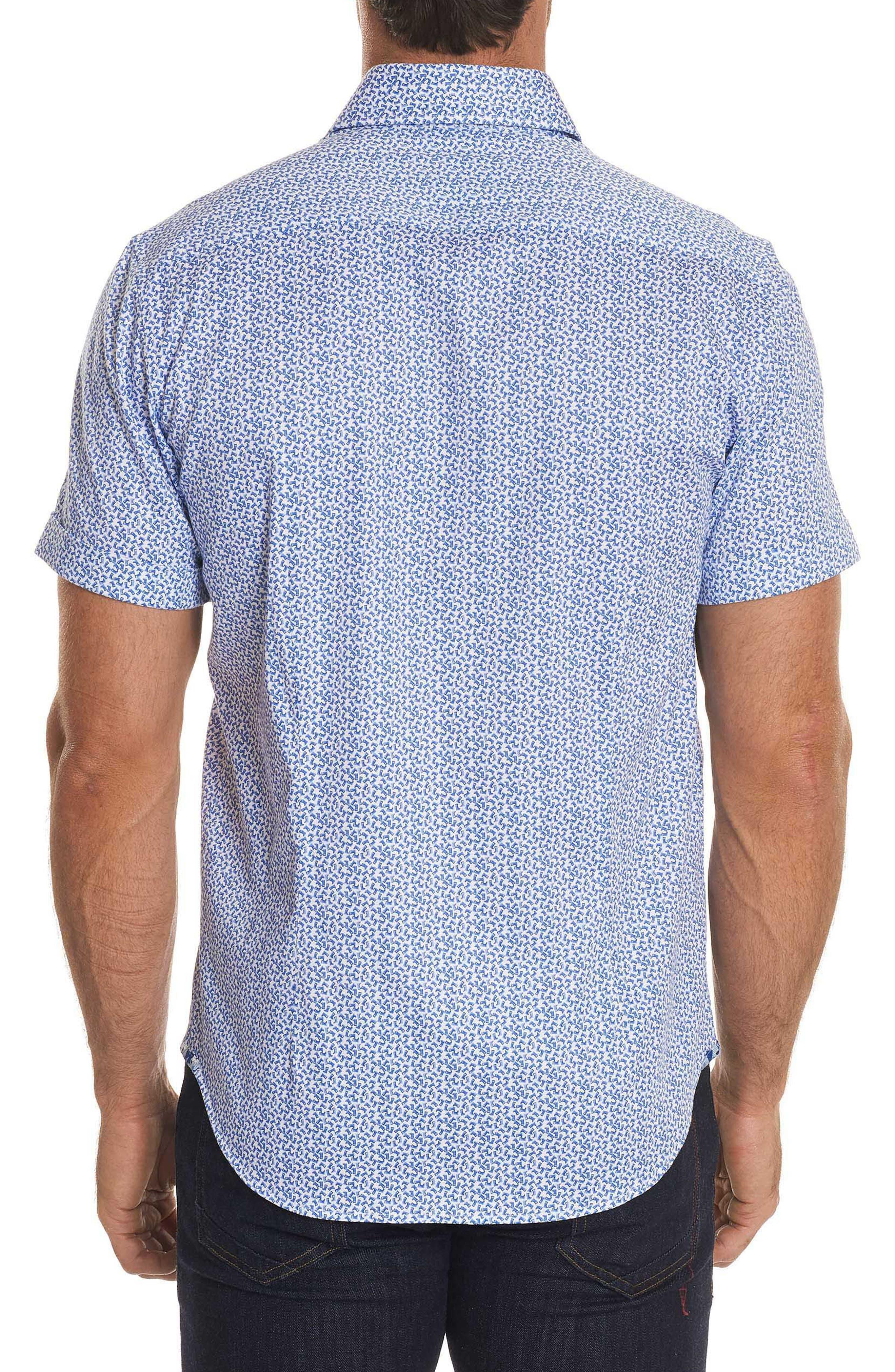 Hartman Tailored Fit Sport Shirt,                             Alternate thumbnail 2, color,                             Blue
