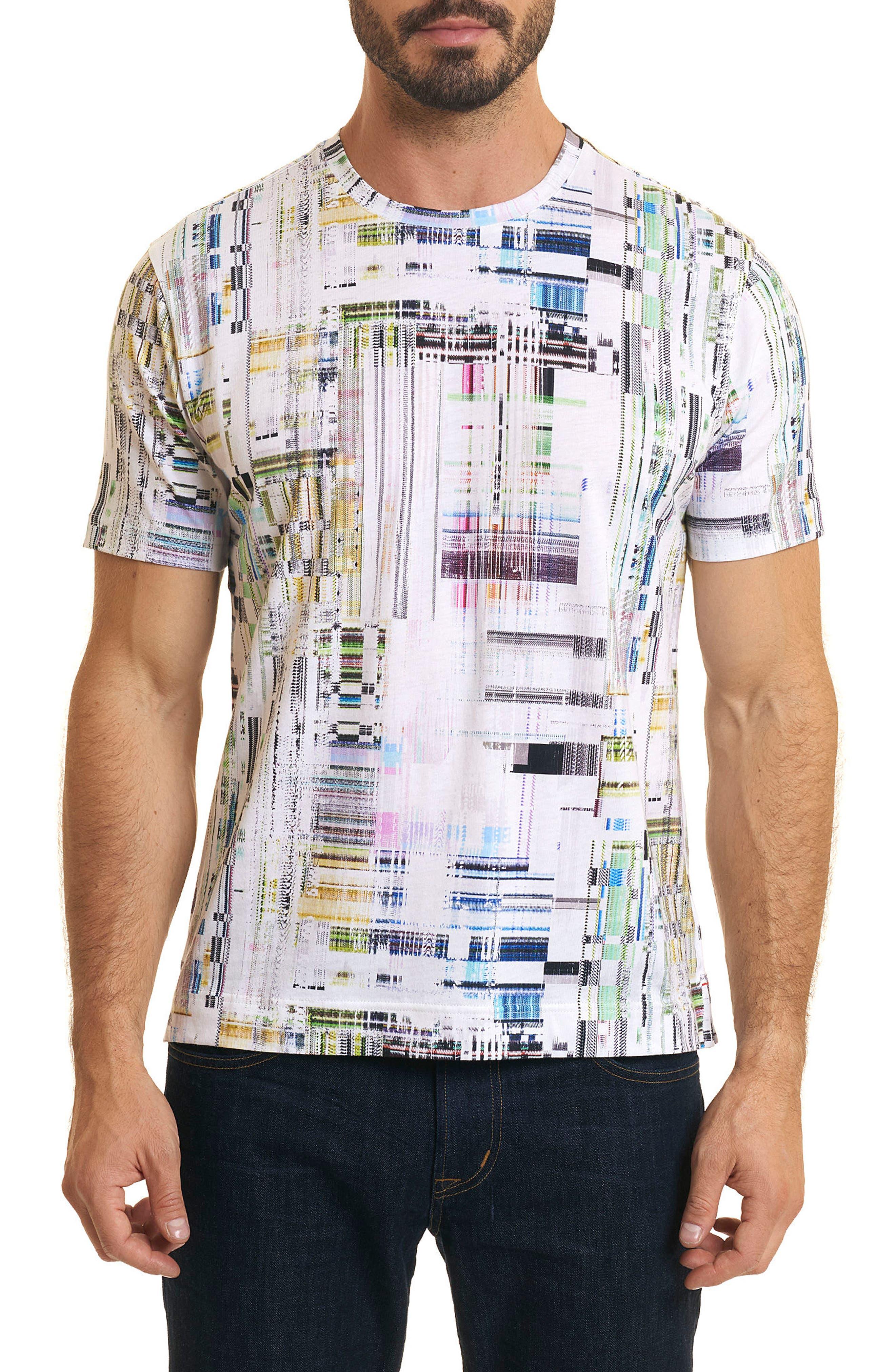 Aquatic Classic Fit T-Shirt,                         Main,                         color, Multi