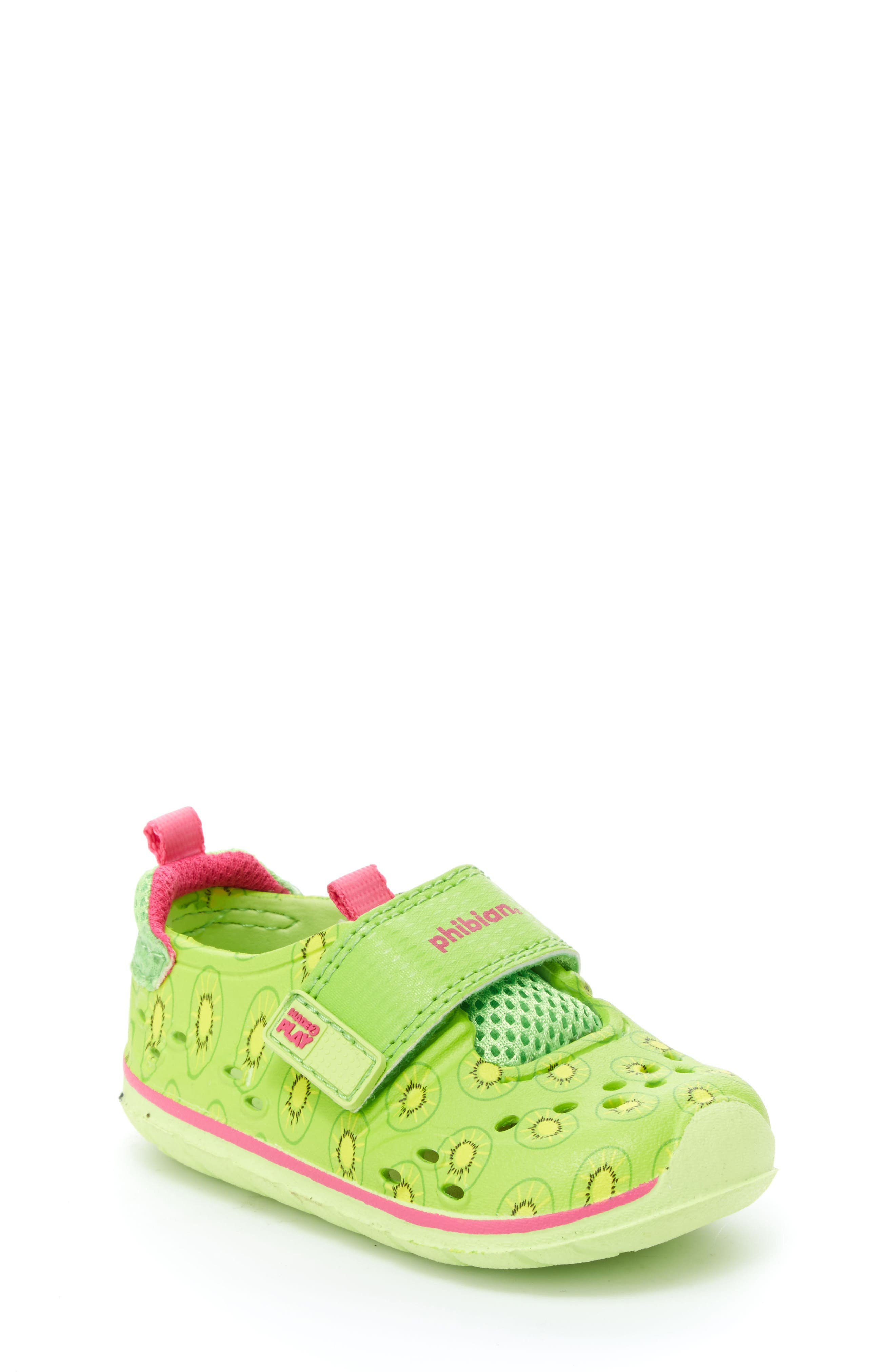 Made2Play<sup>®</sup> Phibian Sneaker,                         Main,                         color, Green Kiwi