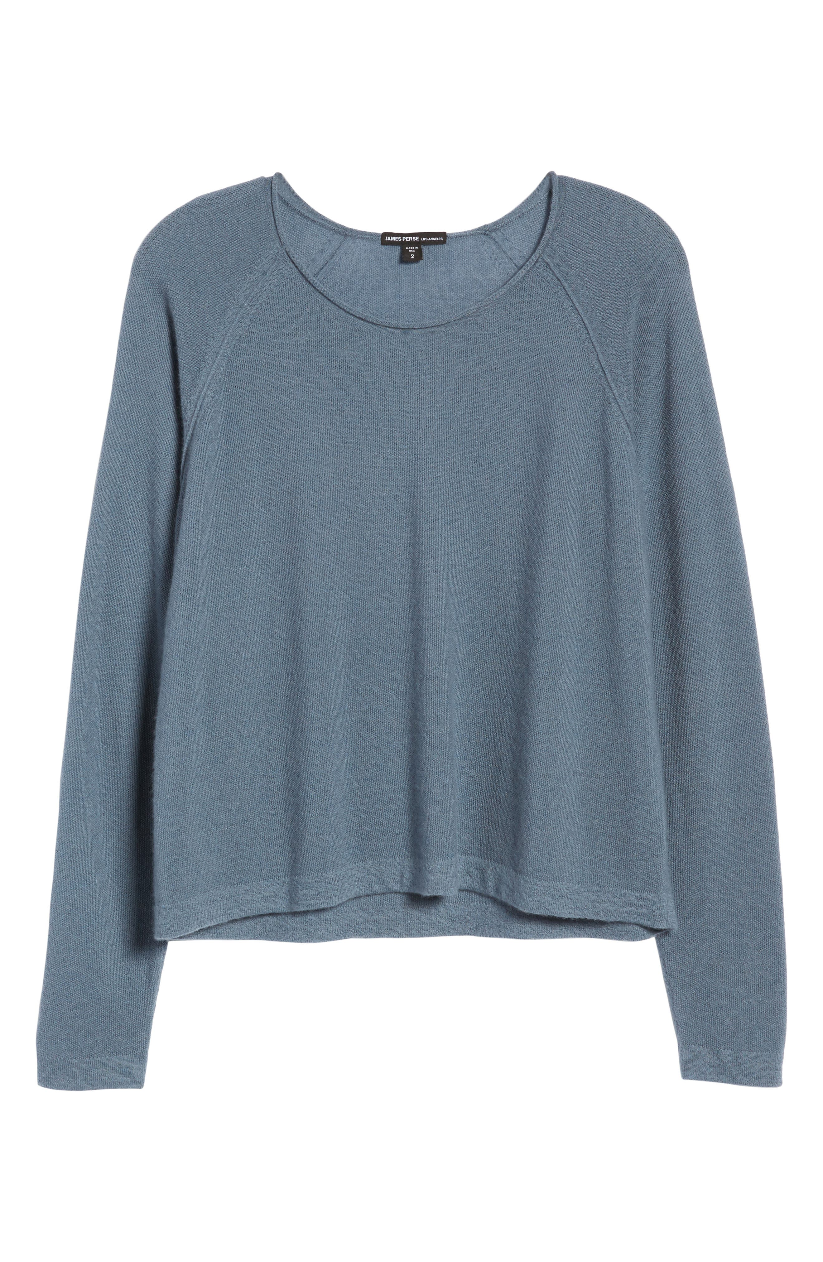 Cashmere Sweater,                             Alternate thumbnail 7, color,                             Heather Cruise