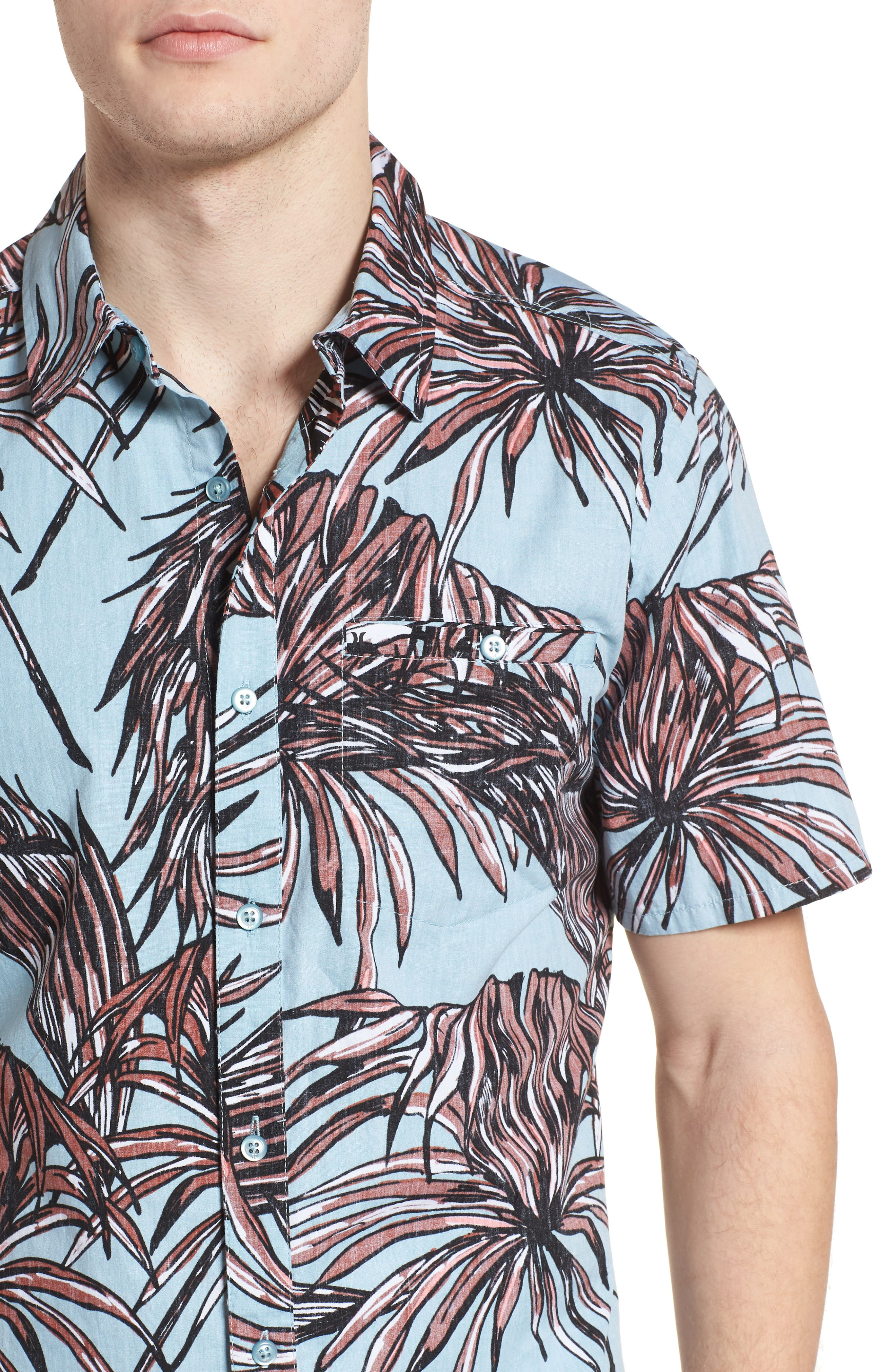 Koko Shirt,                             Alternate thumbnail 2, color,                             Ocean Bliss