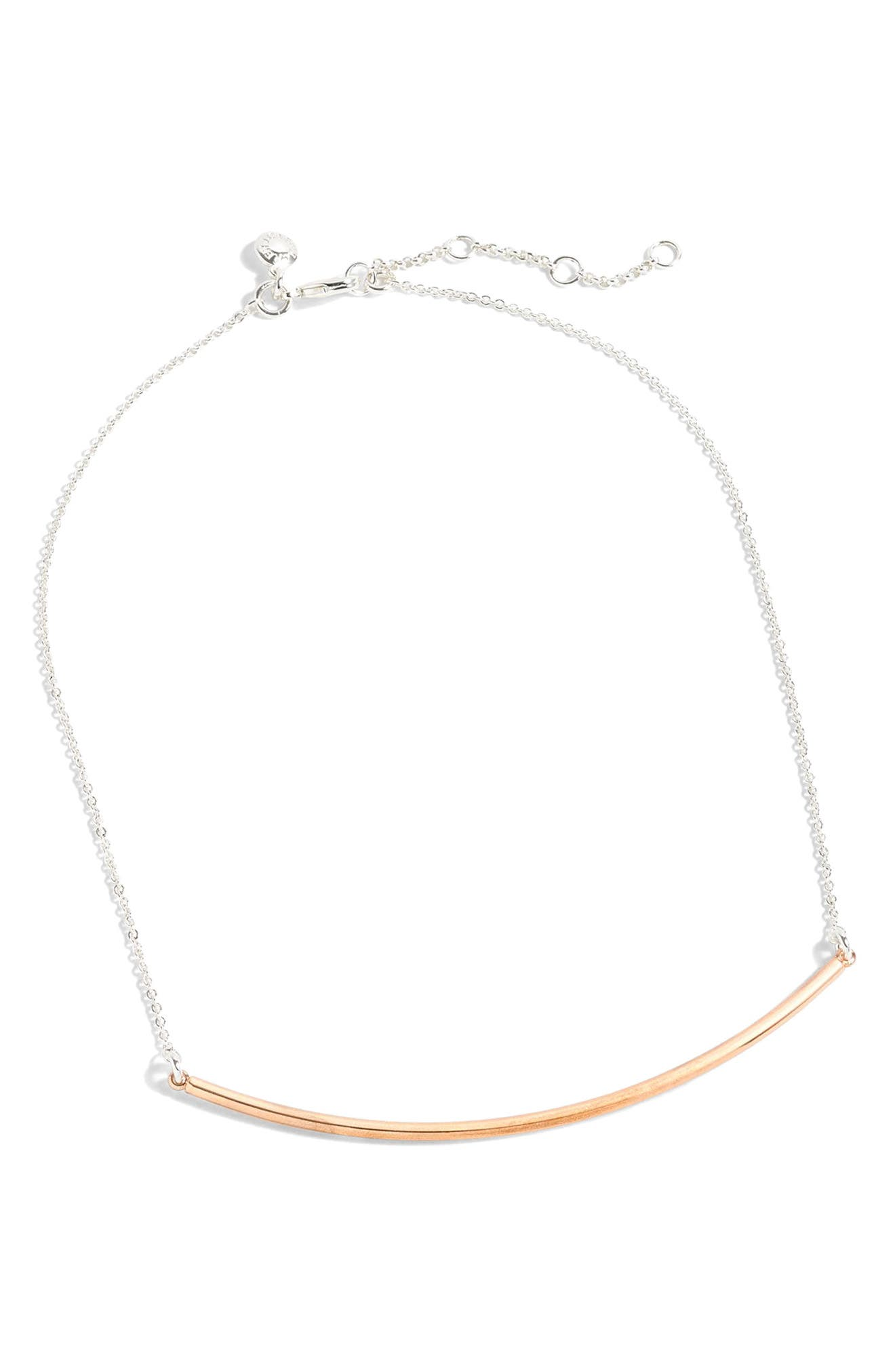 J.Crew Bar Necklace