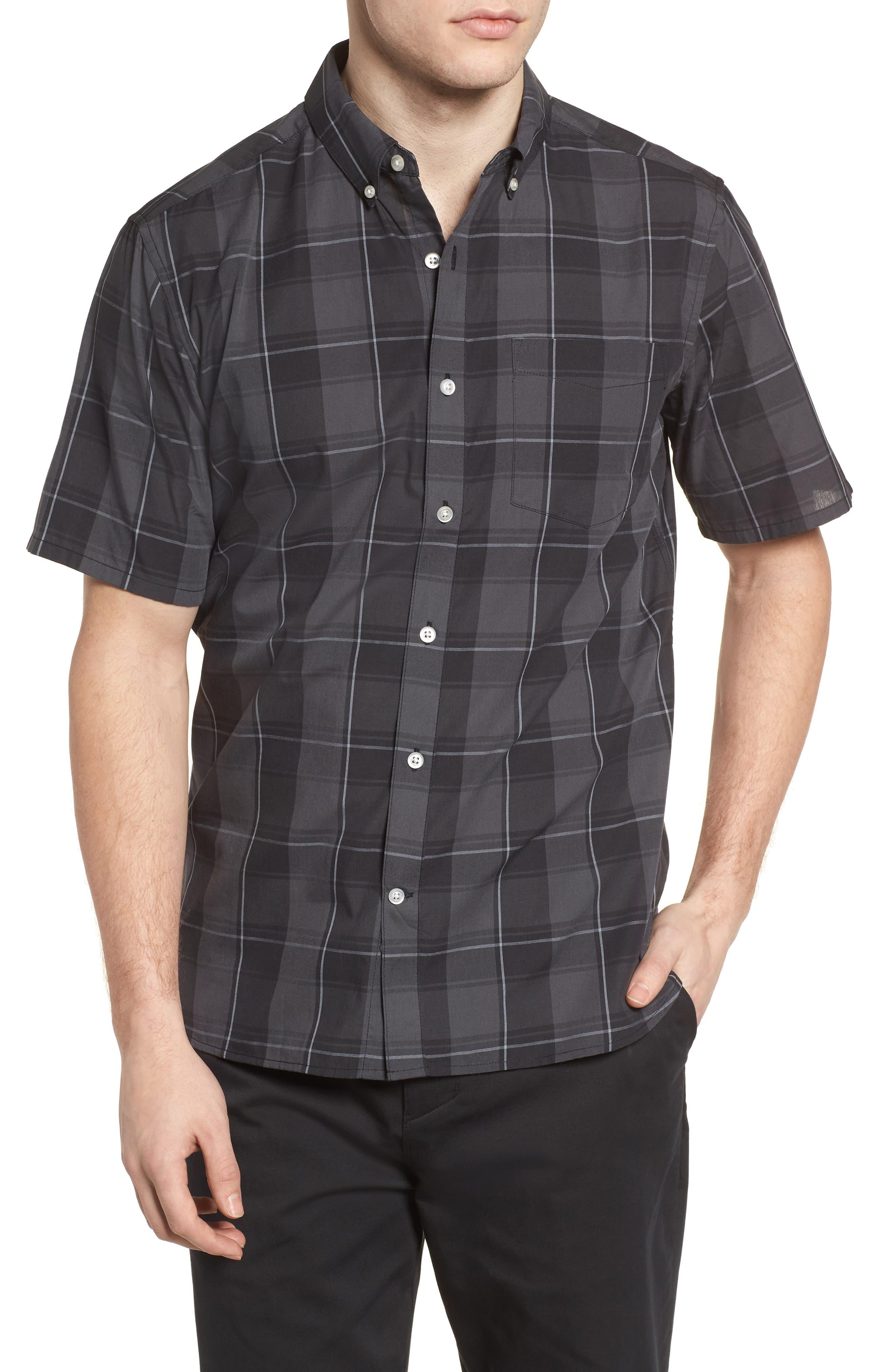 Dri-FIT Castell Shirt,                             Main thumbnail 1, color,                             Black