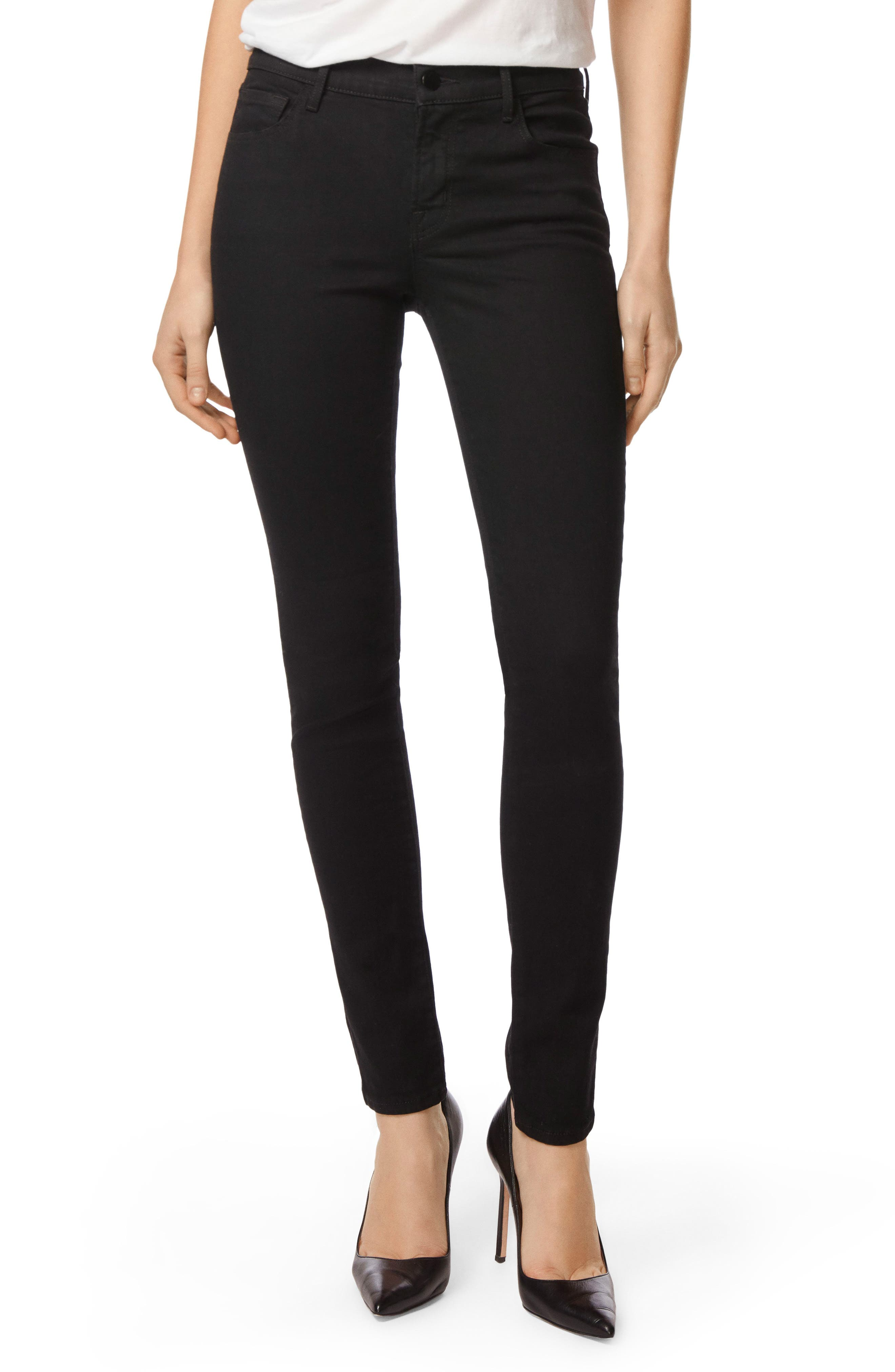Alternate Image 1 Selected - J Brand '811' Mid Rise Skinny Jeans (Photo Ready Vanity)