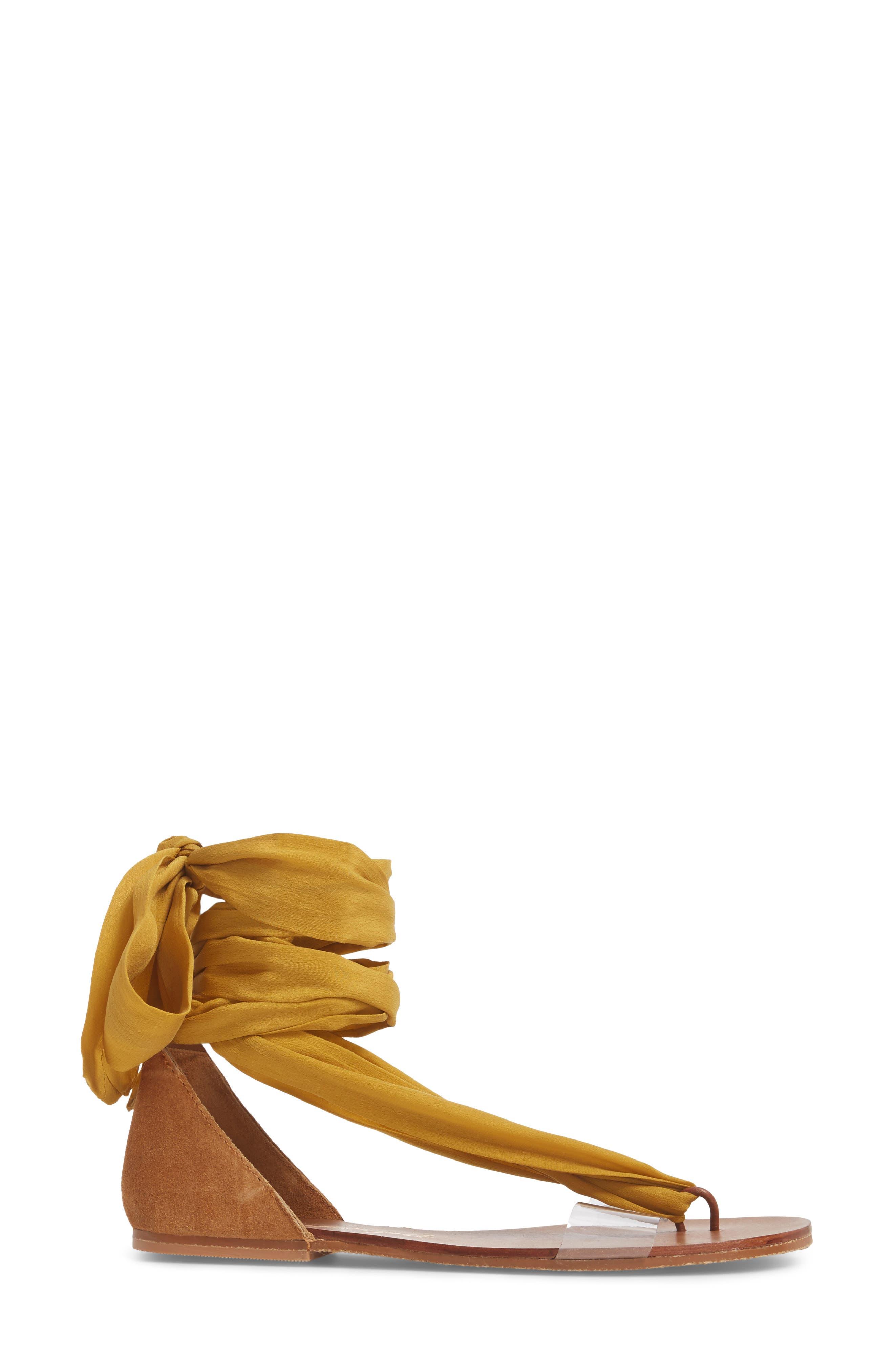 Alternate Image 3  - Free People Barcelona Wrap Sandal (Women)