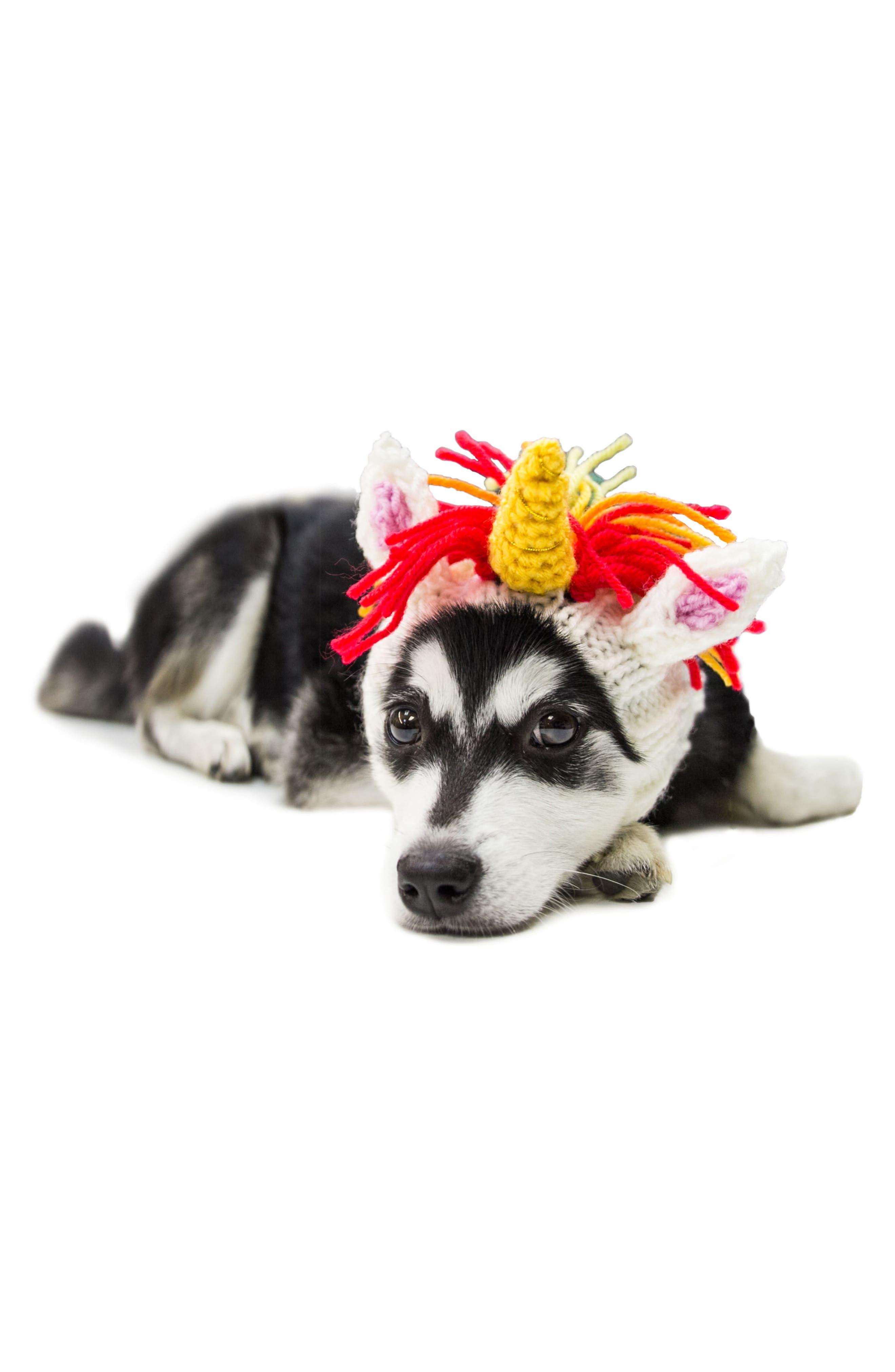 Zoo Snoods Unicorn Crochet Dog Snood