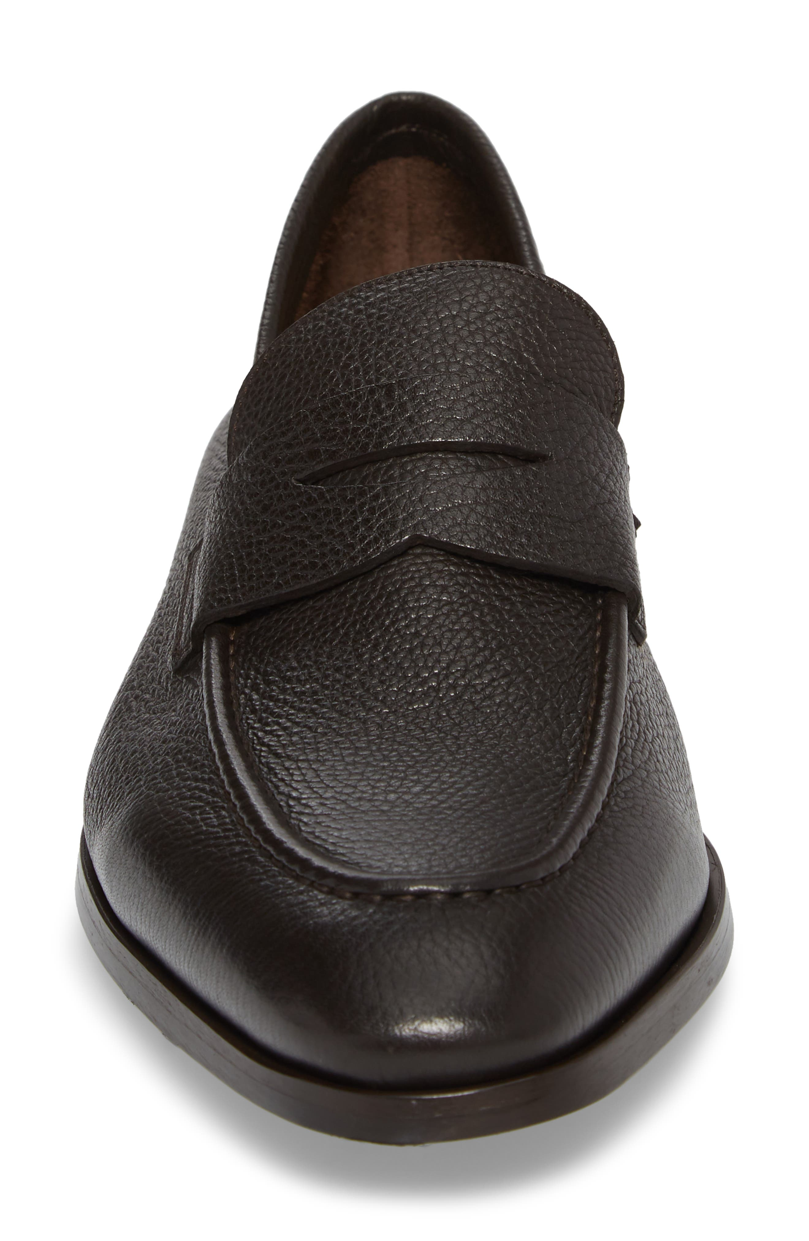 Johnson Penny Loafer,                             Alternate thumbnail 4, color,                             Tmoro Leather
