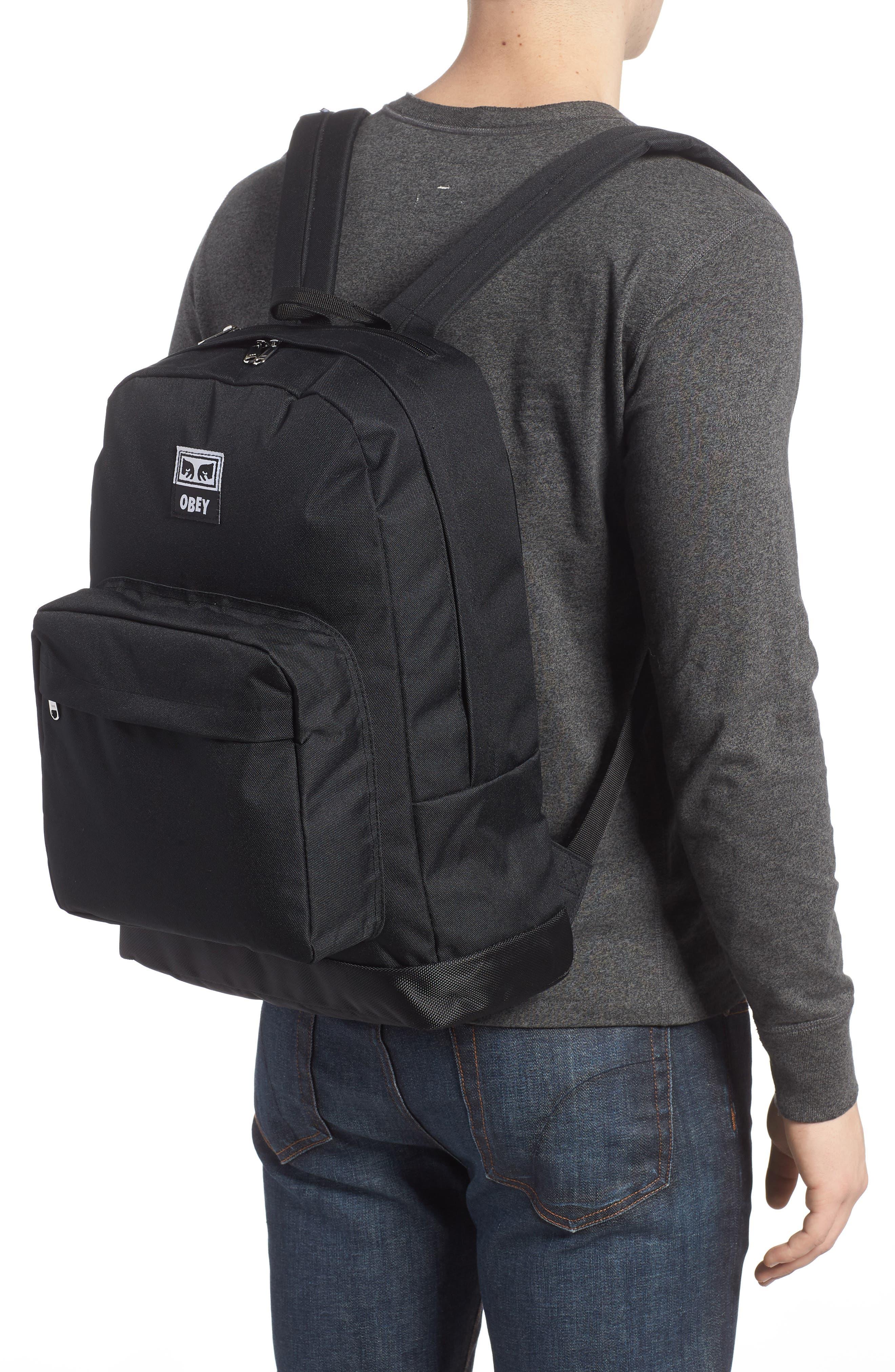 Drop Out Juvee Backpack,                             Alternate thumbnail 2, color,                             Black